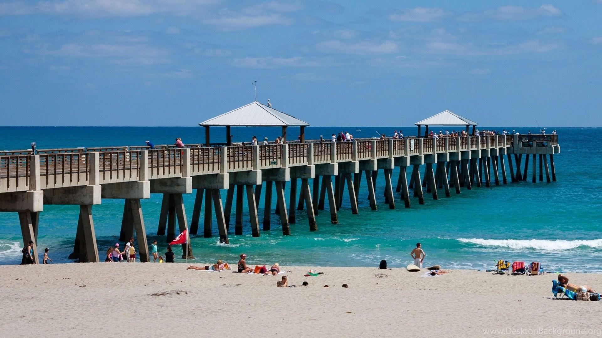 Goa Beach Parallax Hd Iphone Ipad Wallpaper: Florida Beach Bridge Hd Wallpapers Free Desktop Beach