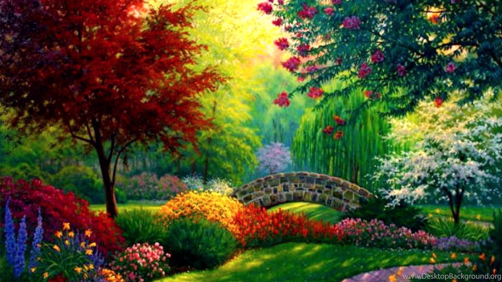 Love And Nature Wallpaper