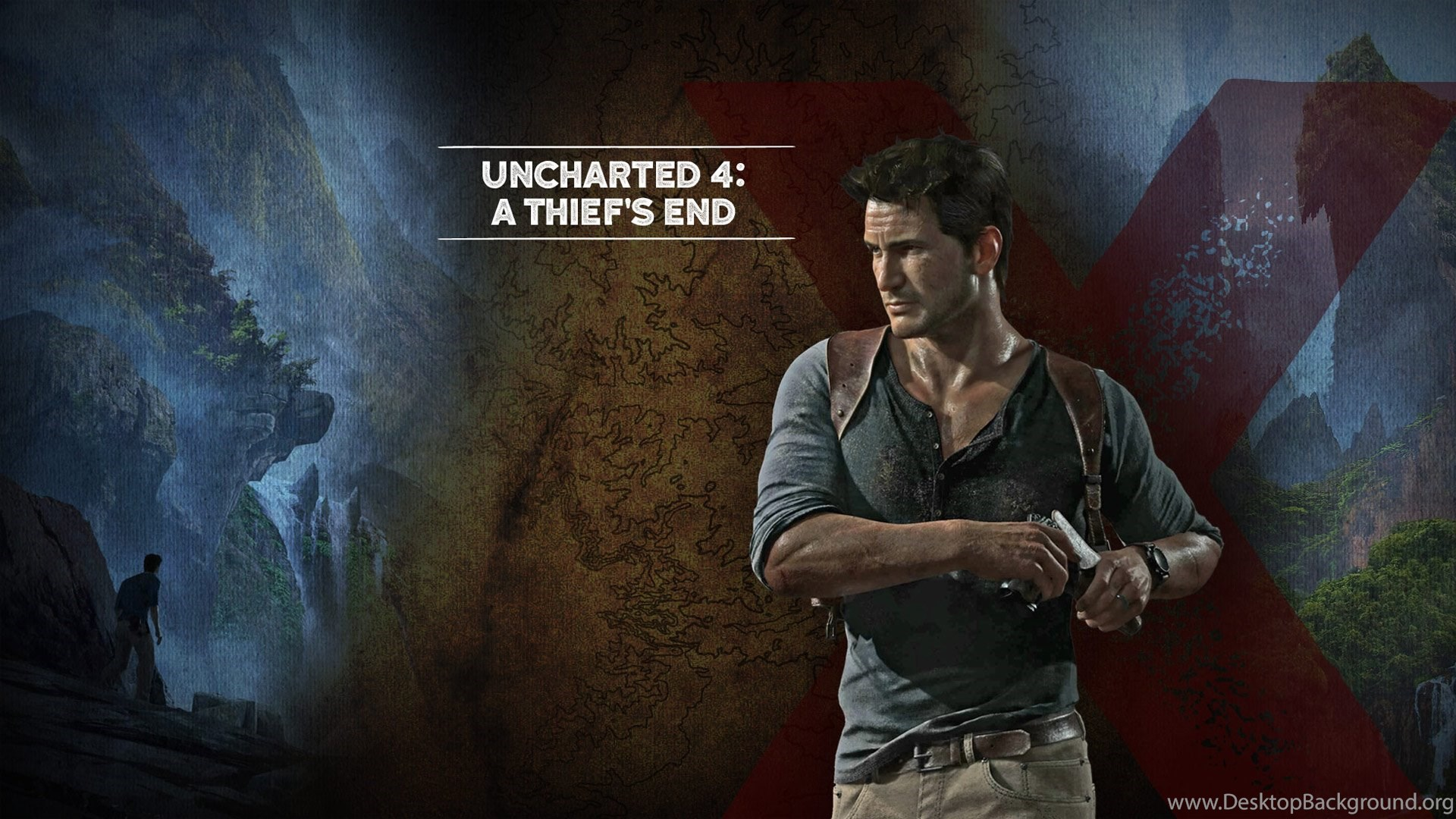 Nathan Drake Wallpapers Uncharted 4 A Thiefs E 1444 Desktop