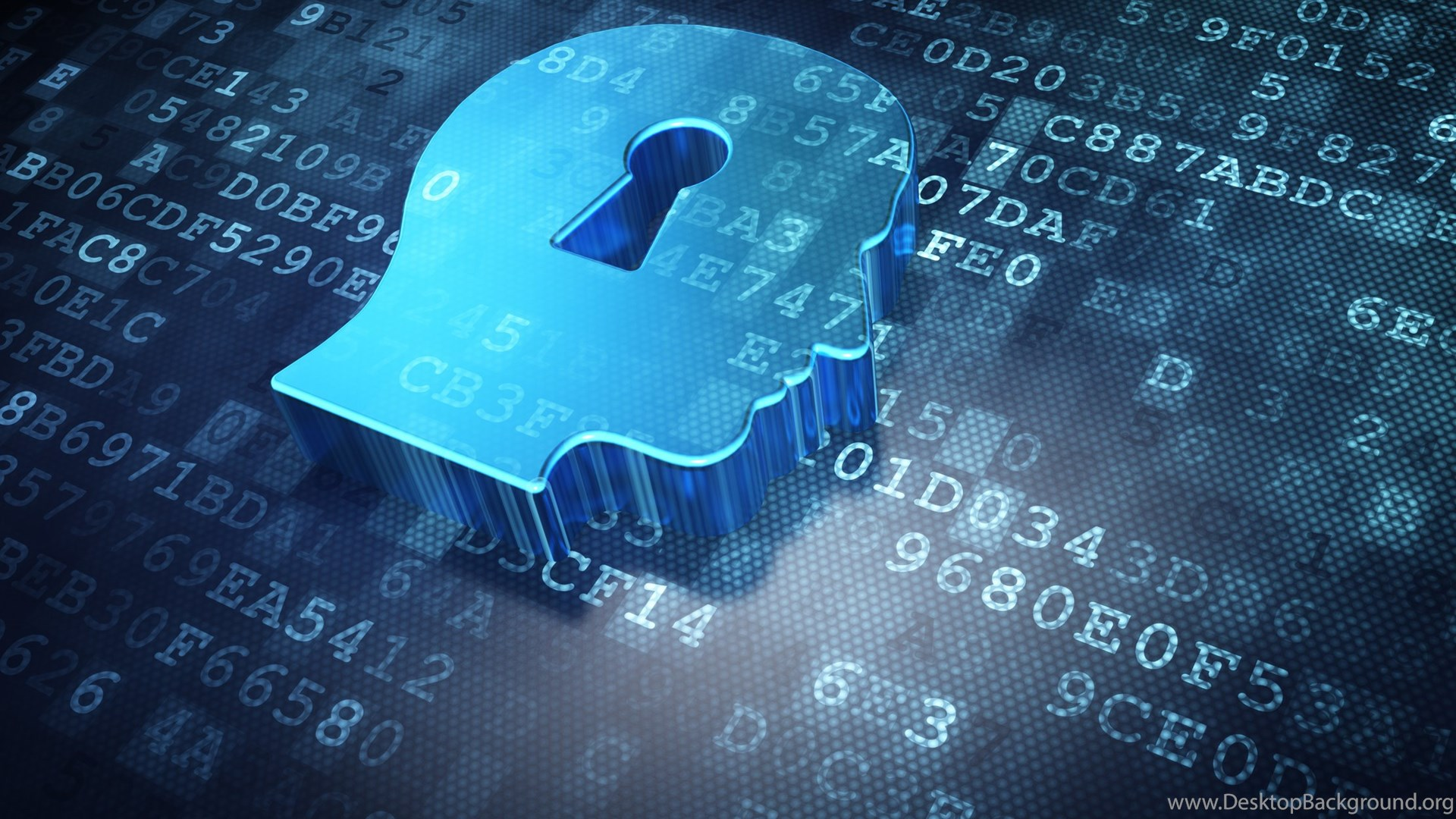 Wallpapers Brain Lock Cloud Security 3D Wallpapers Picture
