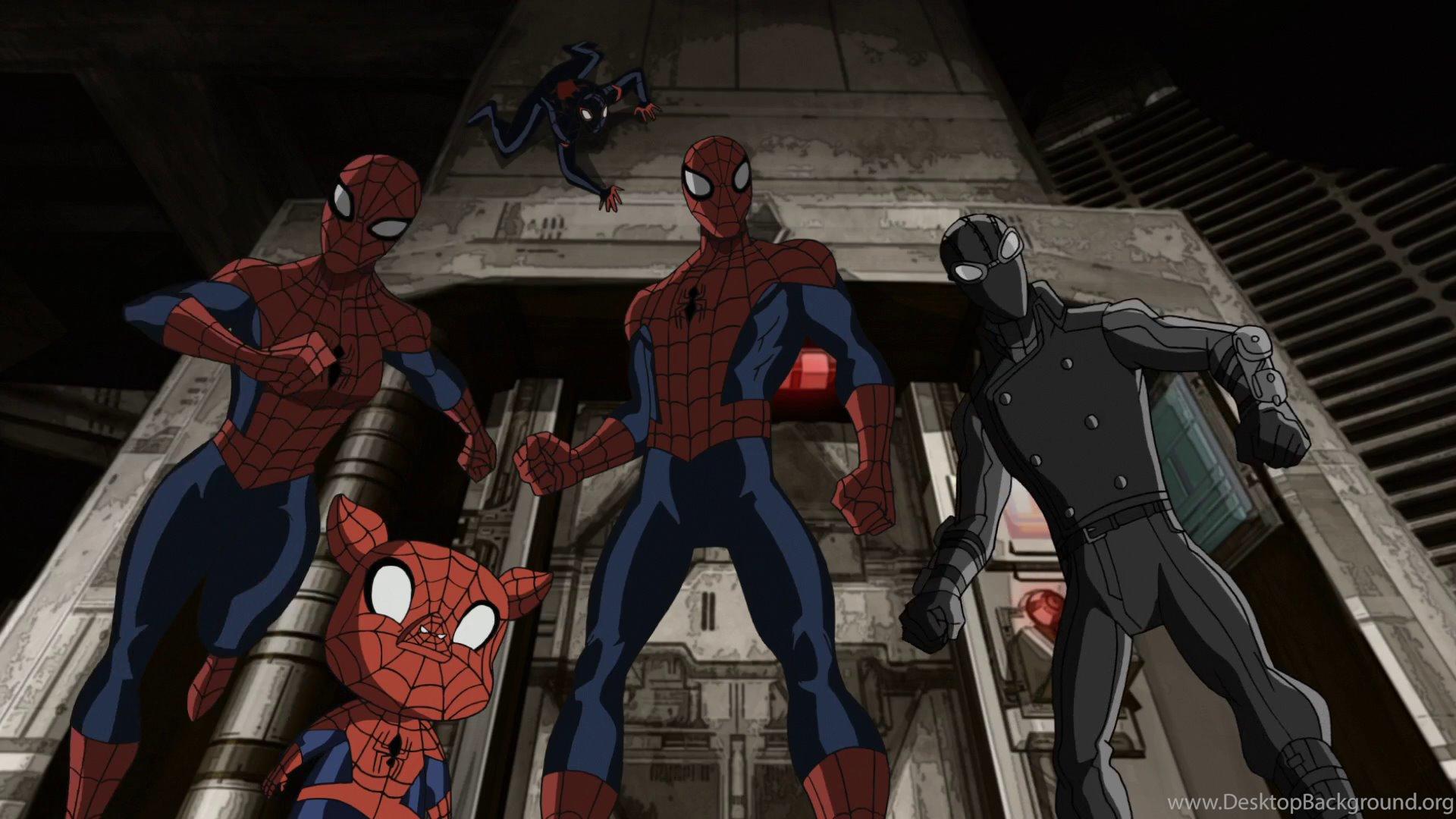 Image Spider Man Spider Girl Spider Ham Miles Morales Spider Man