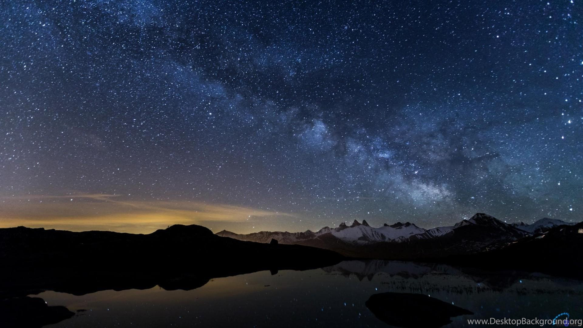 High resolution best starry night sky wallpapers 1080p - Star night wallpaper ...