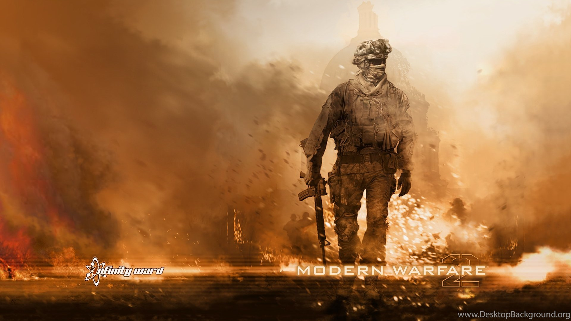 Call Of Duty Modern Warfare 2 Pc Games Wallpapers Desktop