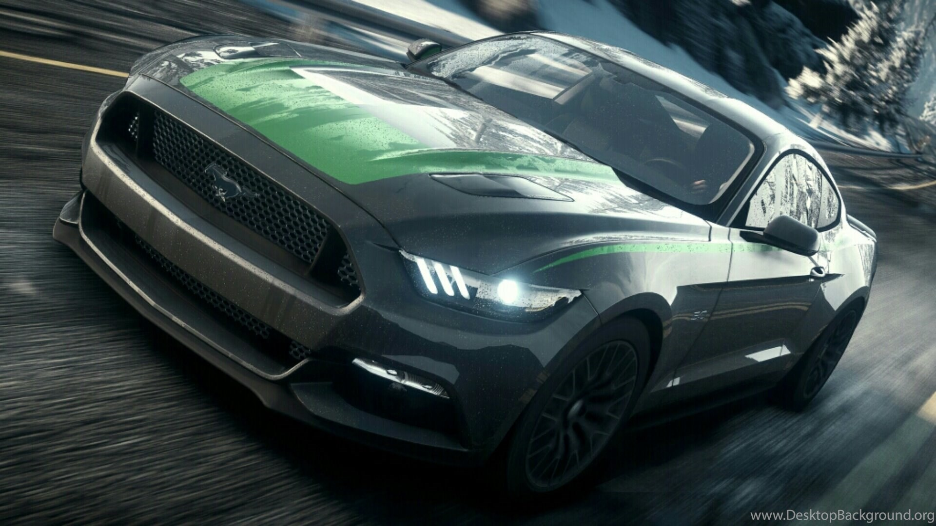 2015 Ford Mustang Gt Silver Ford Mustang 2015 Hd Wallpapers