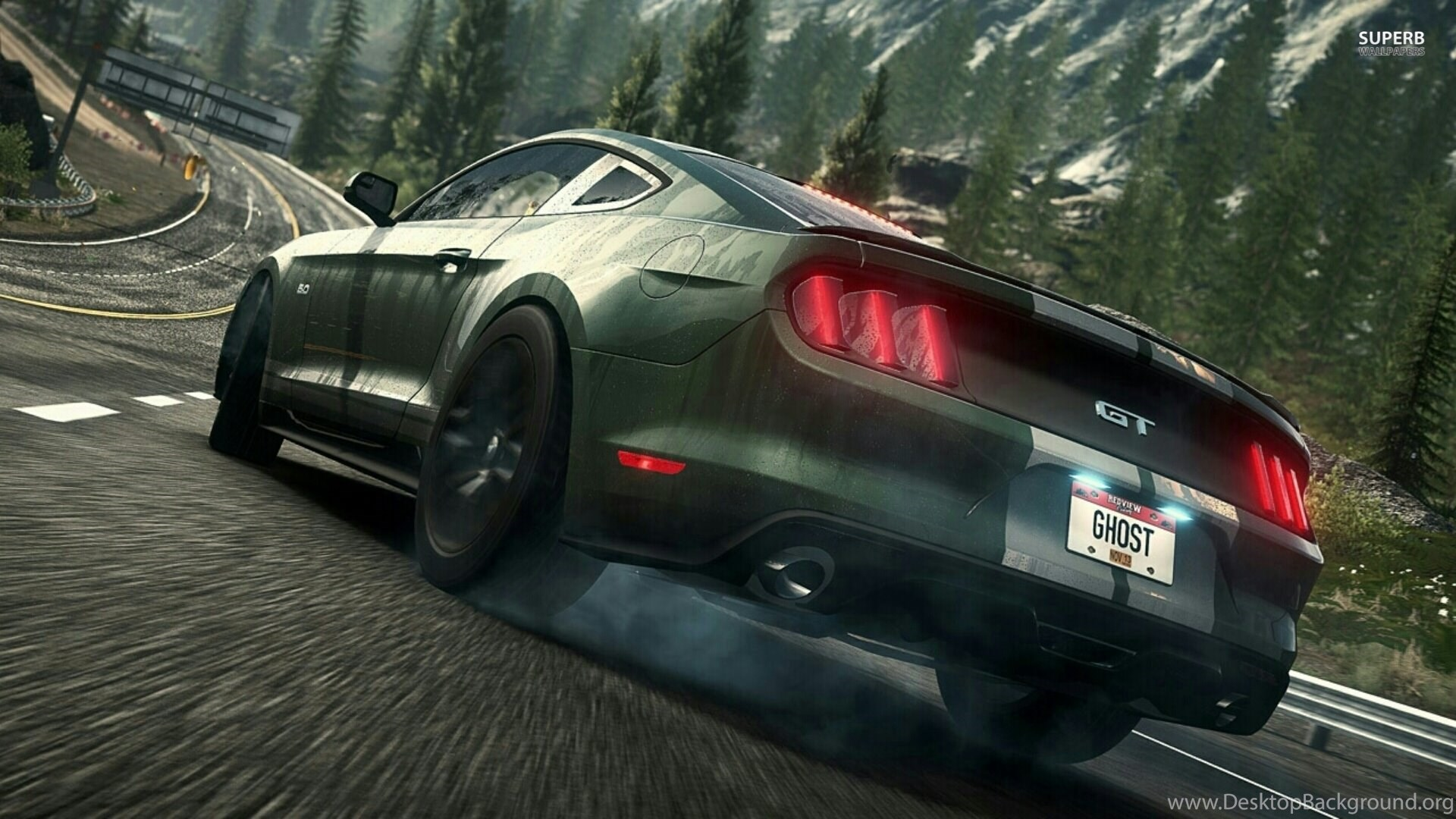 Ford Mustang Gt Need For Speed Wallpapers Movie Ford Mustang