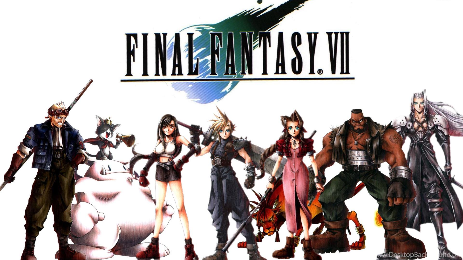 Final Fantasy VII Wallpapers Desktop Background