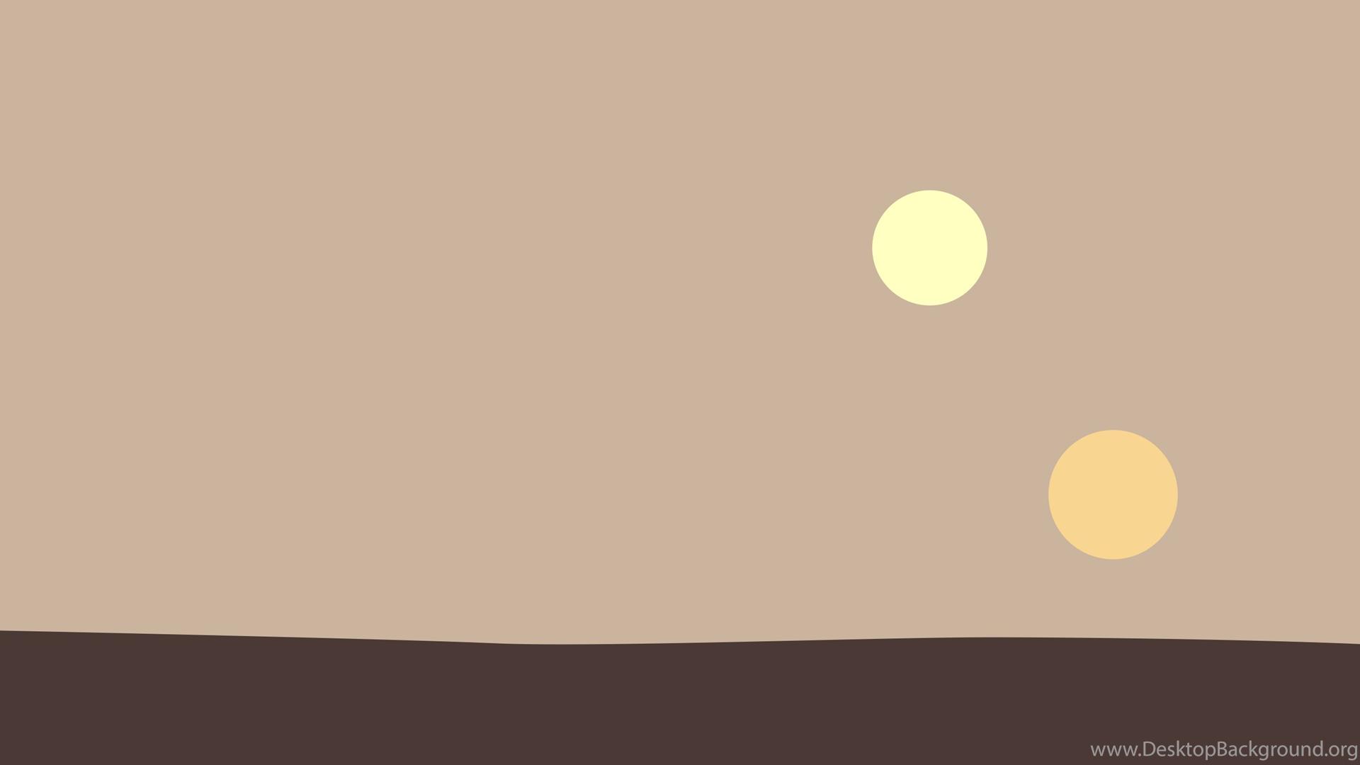 Minimalist Tatooine Wallpapers 2880x1800 Starwars Desktop Background