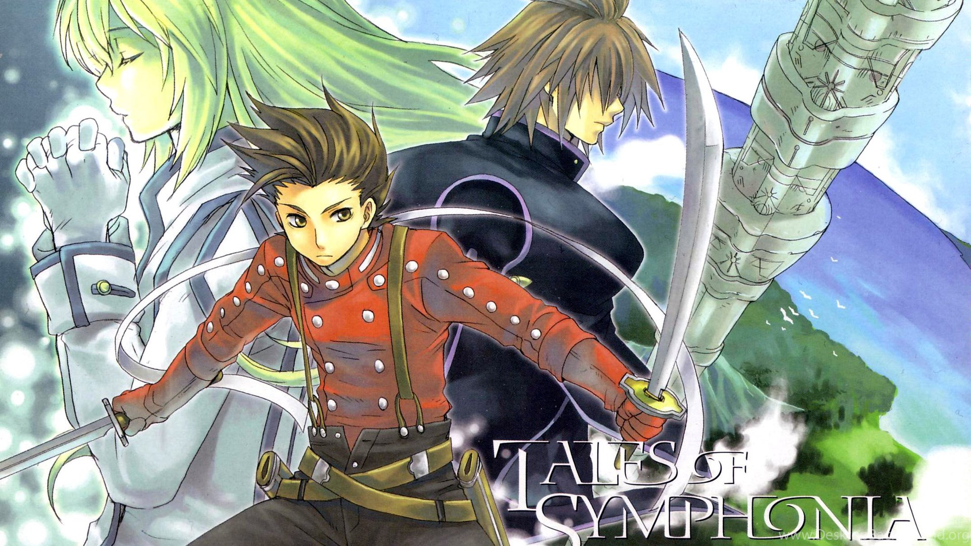 12 Tales Of Symphonia Hd Wallpapers Desktop Background