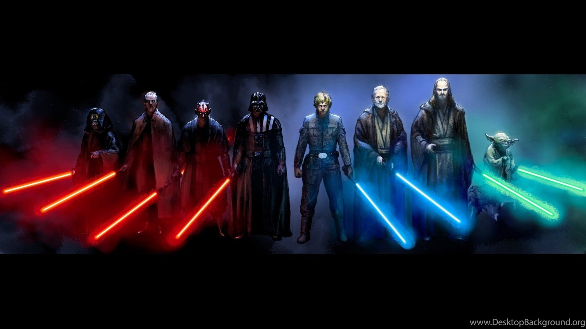 Anakin Skywalker Darth Vader Sith Jedi Fan Art Star Wars Hd Desktop Background