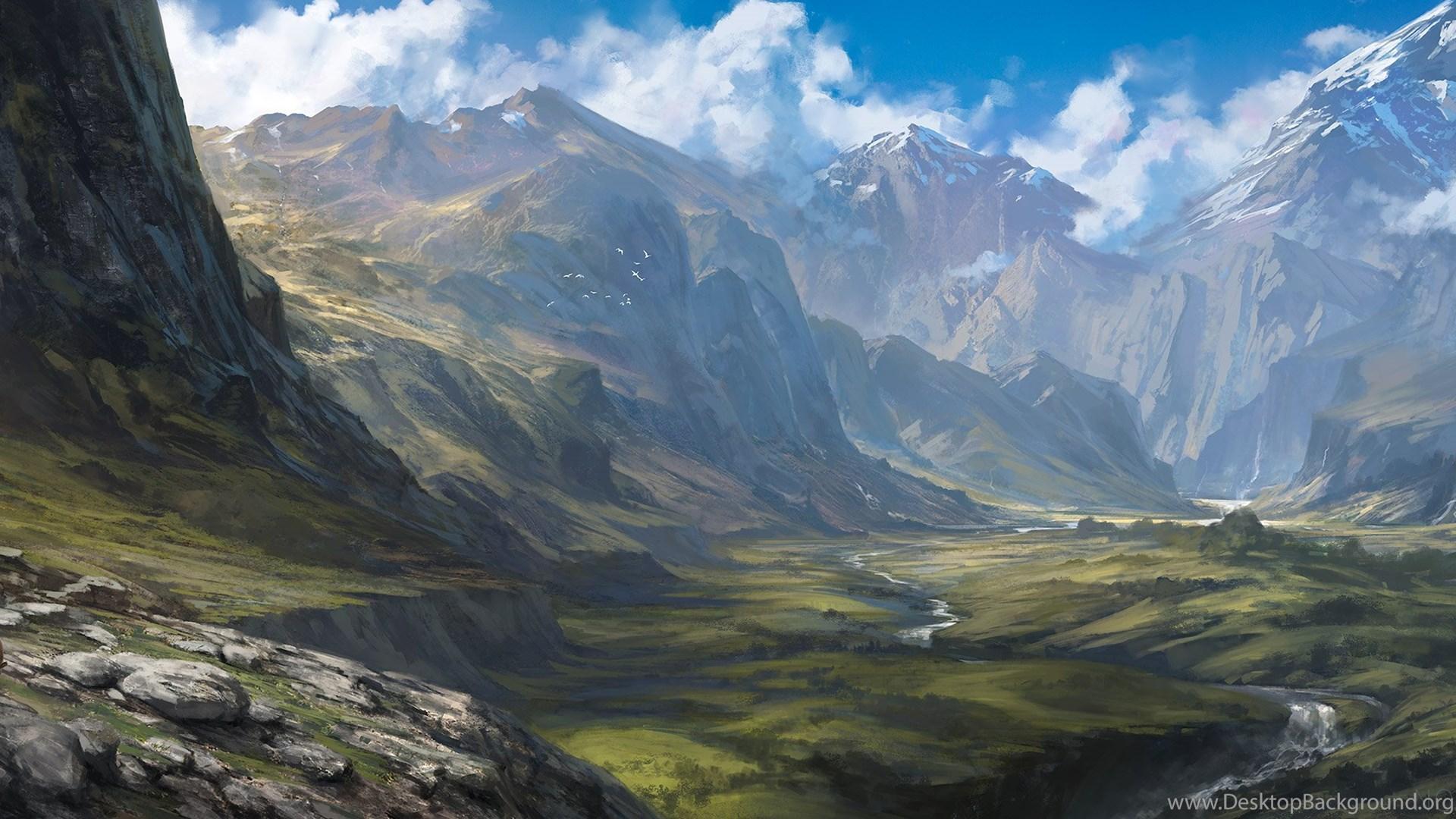 Fantasy scenery wallpapers desktop background - Fantasy scenery wallpaper ...