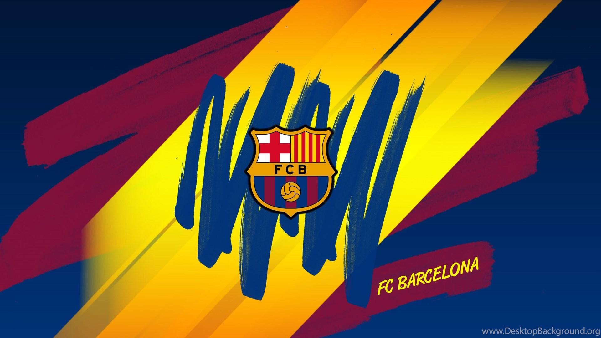 Barcelona Fc Logo Hd Wallpapers 4k Wallpapers Desktop Background