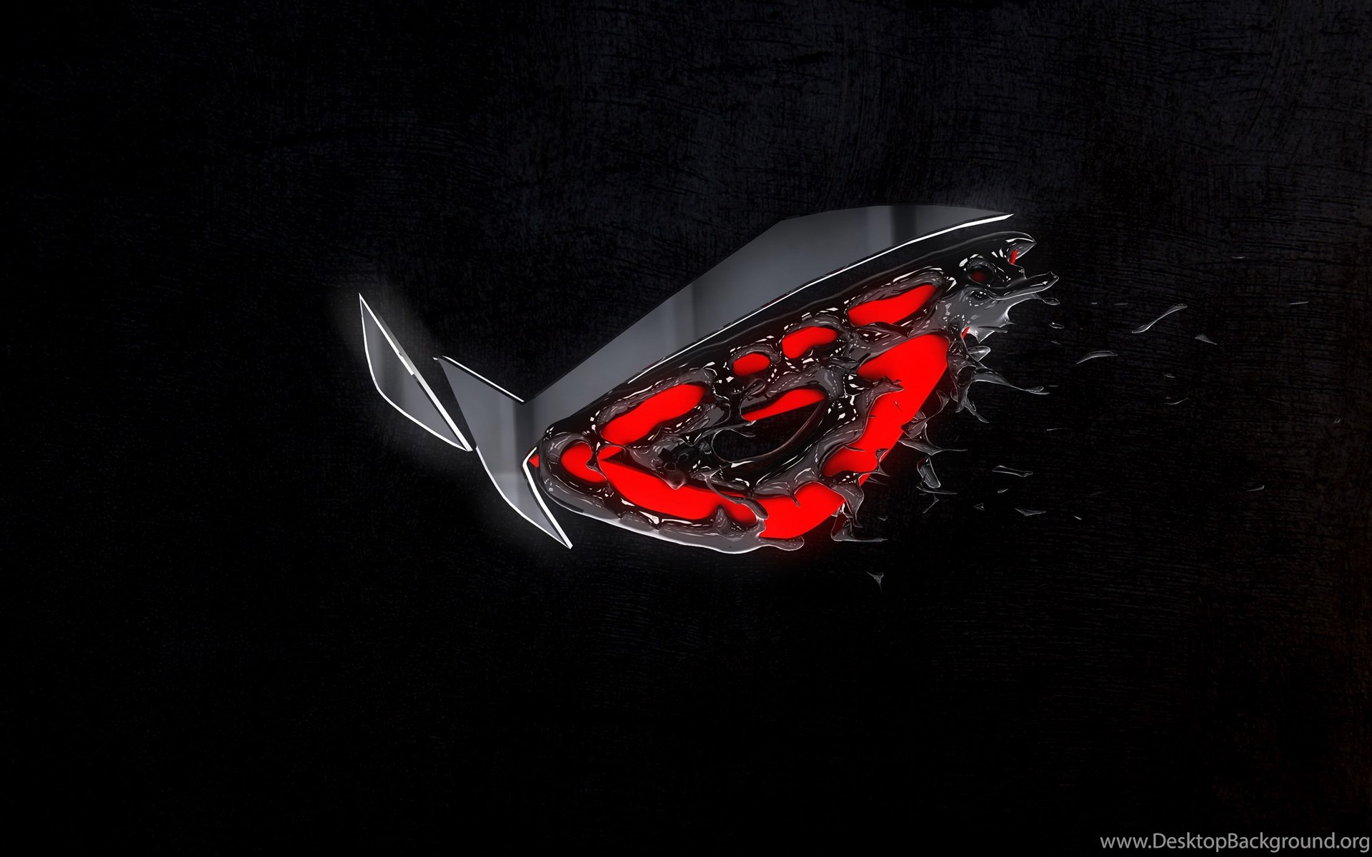 3d 3d render asus asus rog gaming republic of gamers rog - Rog desktop wallpaper ...