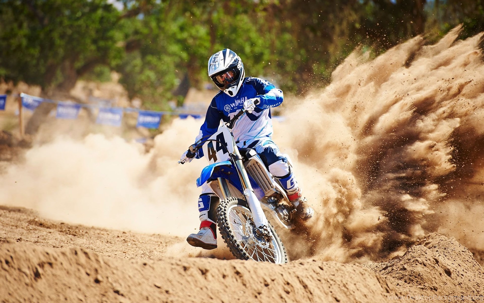 Kawasaki Dirt Bikes Wallpapers Wallpaper  Desktop Background