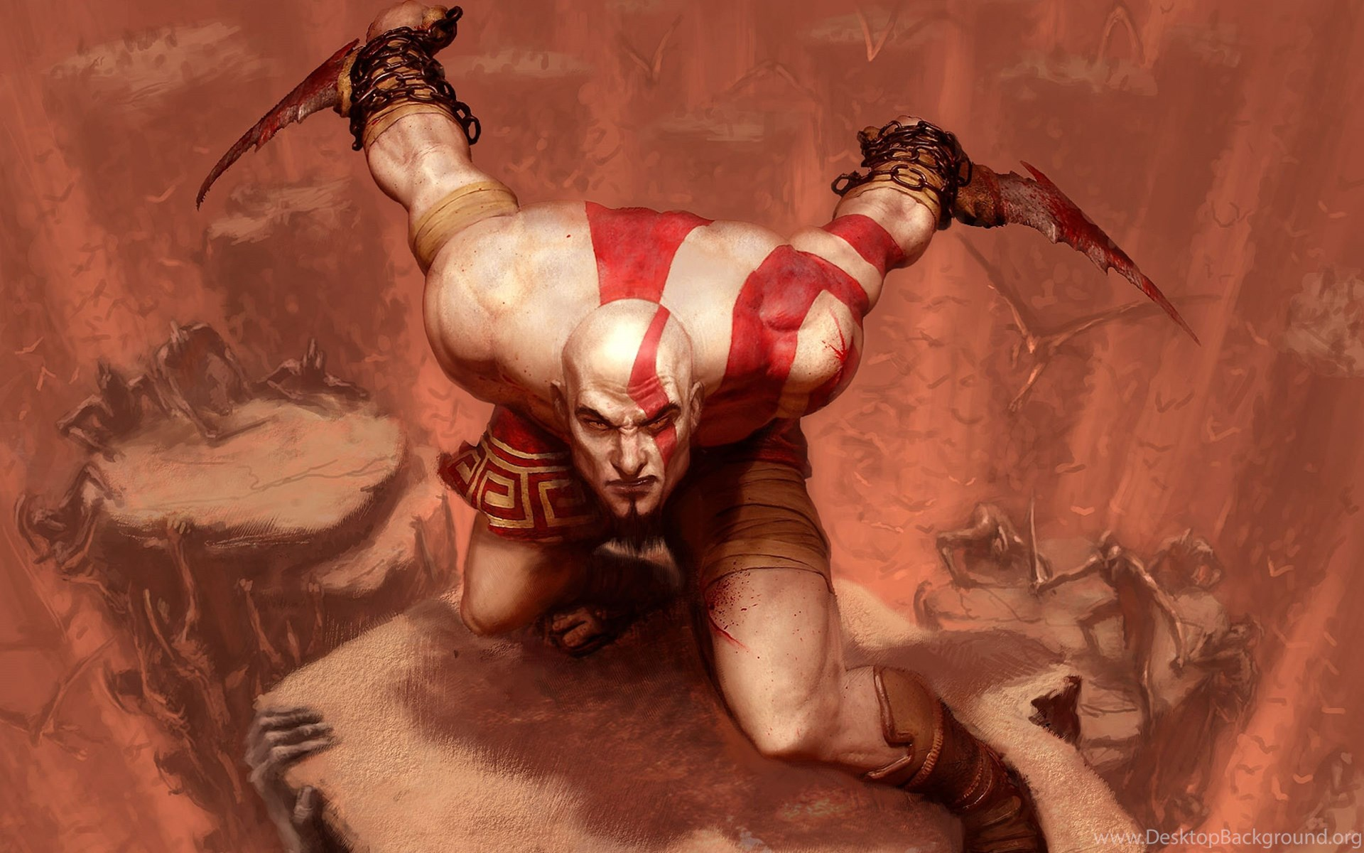 Ultra HD 4K God Of War Wallpapers Desktop Backgrounds