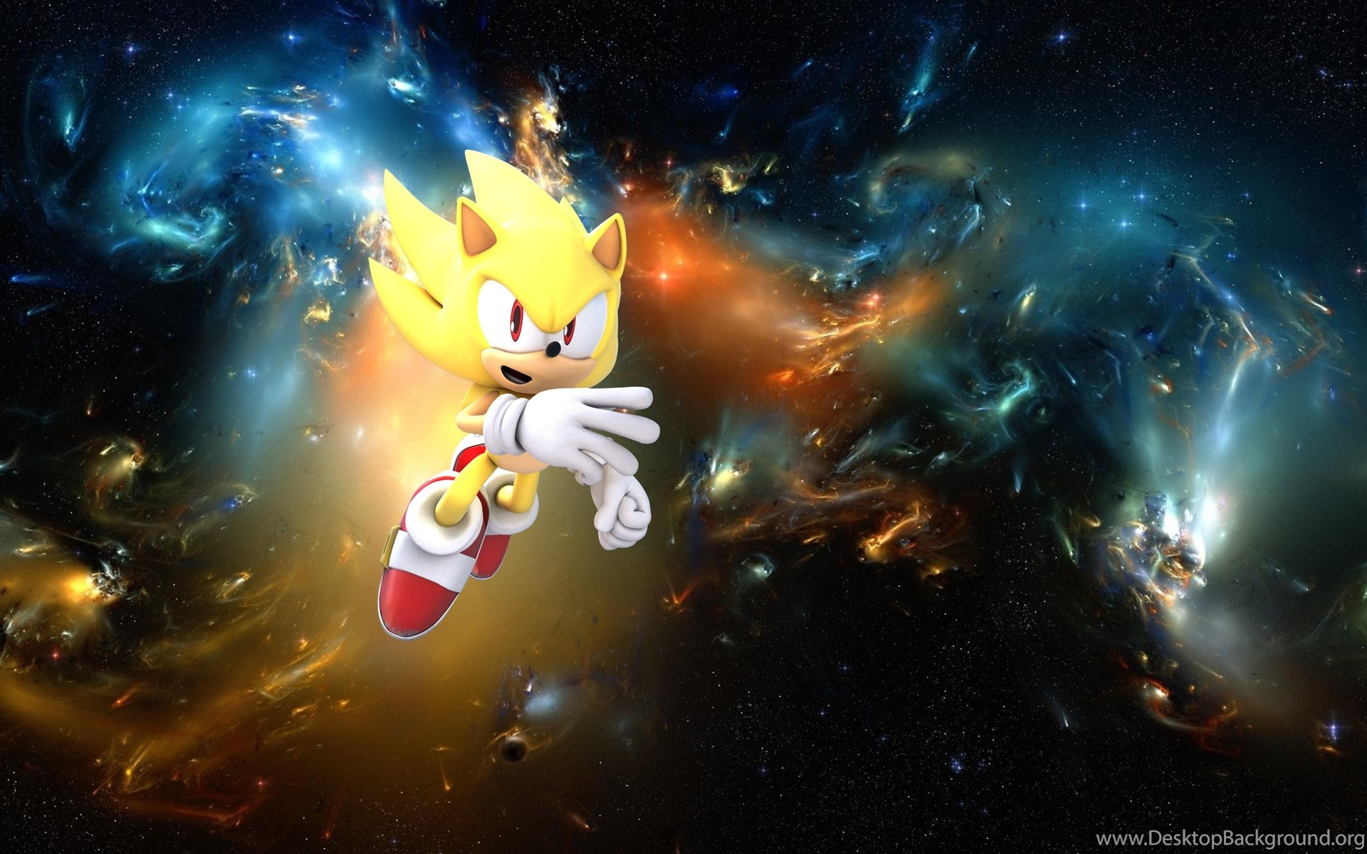 super sonic wallpapers 7 by sonic werehog fury on
