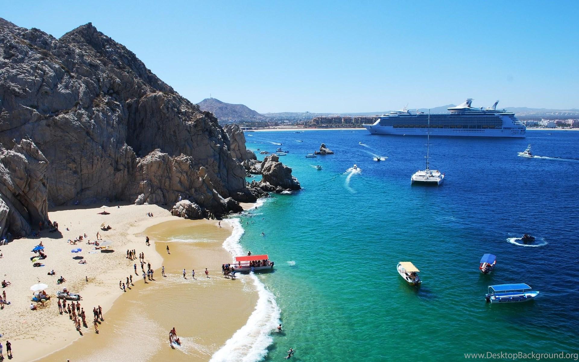cabo san lucas beaches, cabo fishing desktop background