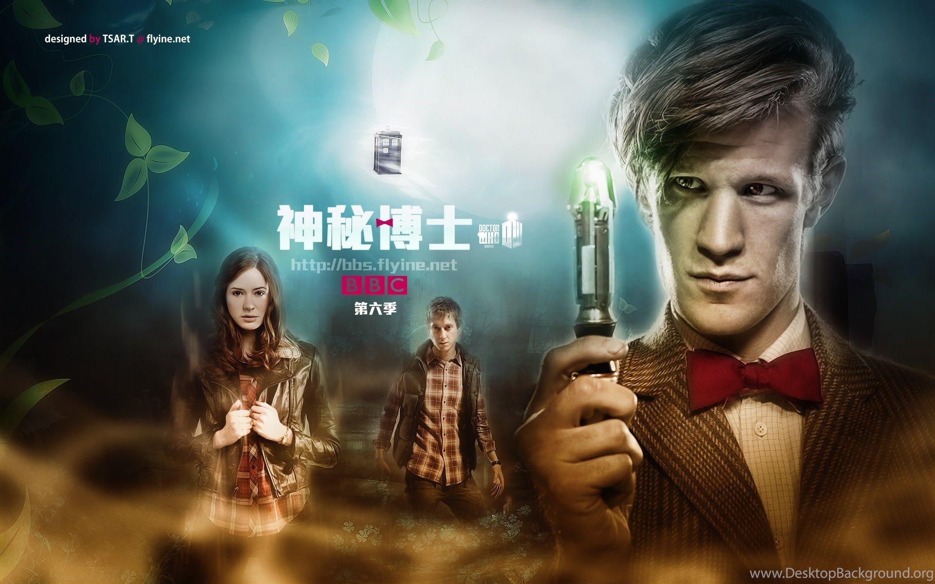 Doctor Who Wallpapers For The 6th Season New Adventure Doctor Who