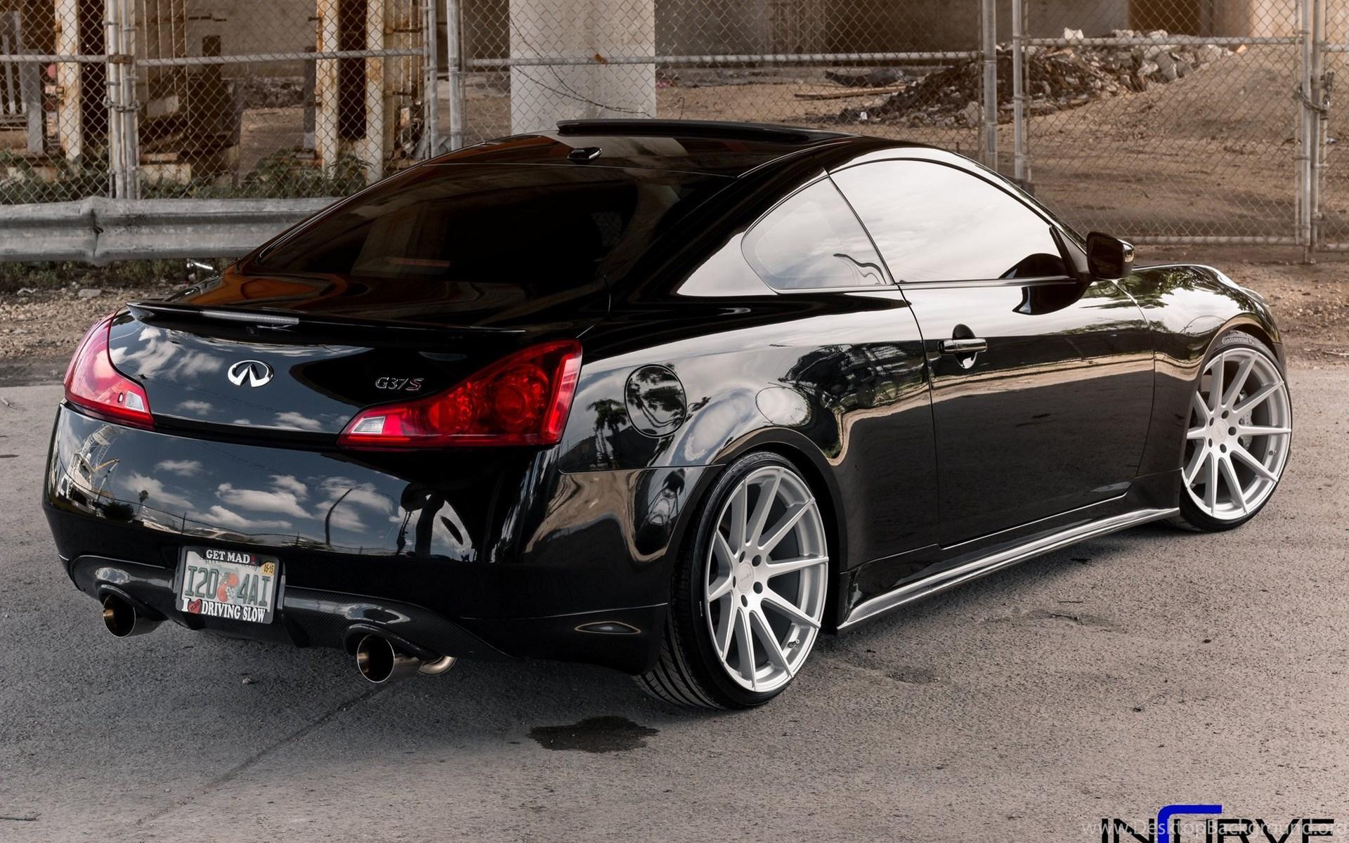 2015 Incurve Wheels Cars Tuning Infiniti G37 Wallpapers Desktop Widescreen
