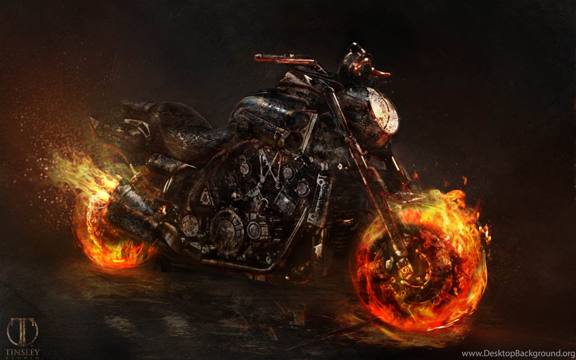 desktop wallpapers ghost rider 2 desktop background