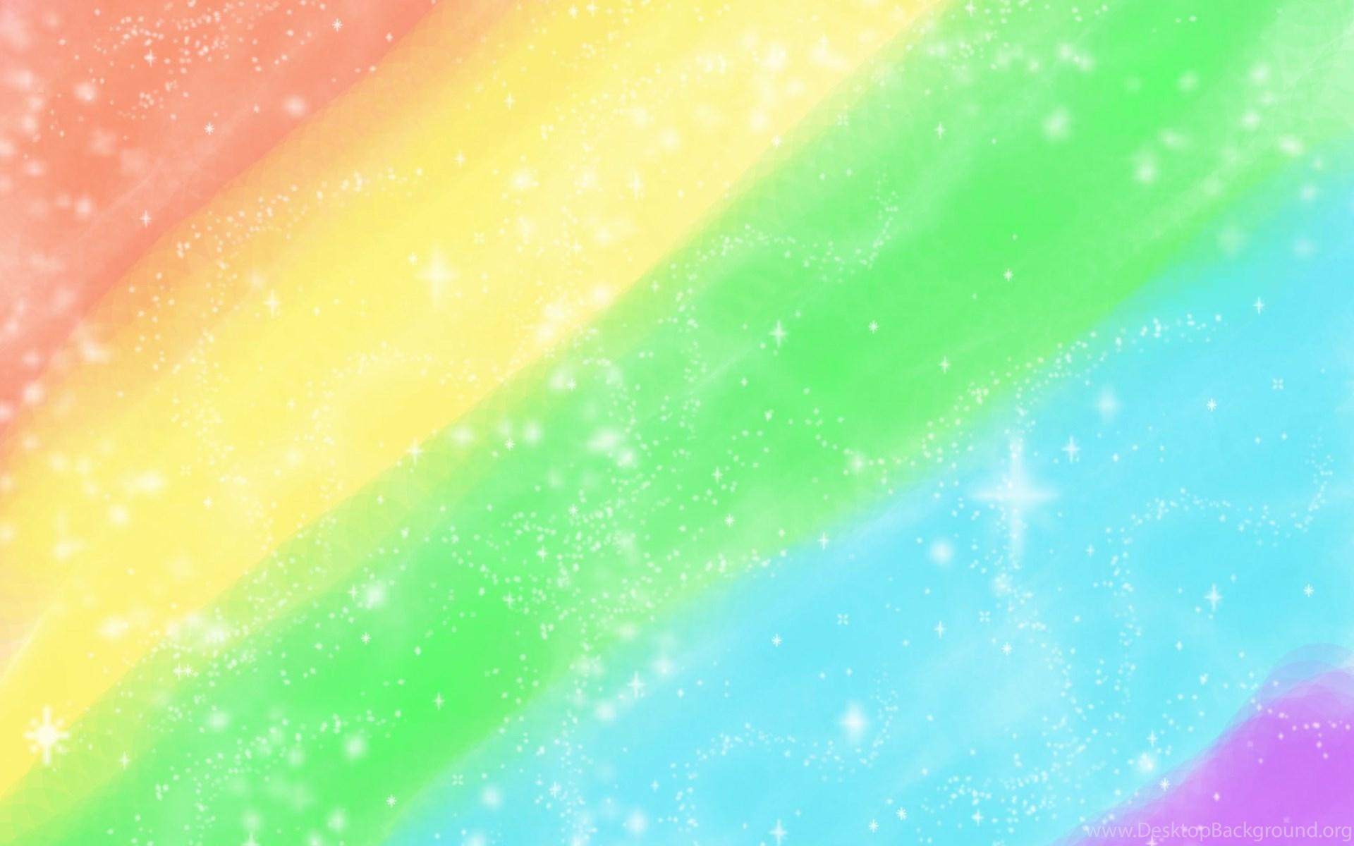 rainbow glitter stars wallpaper desktop background