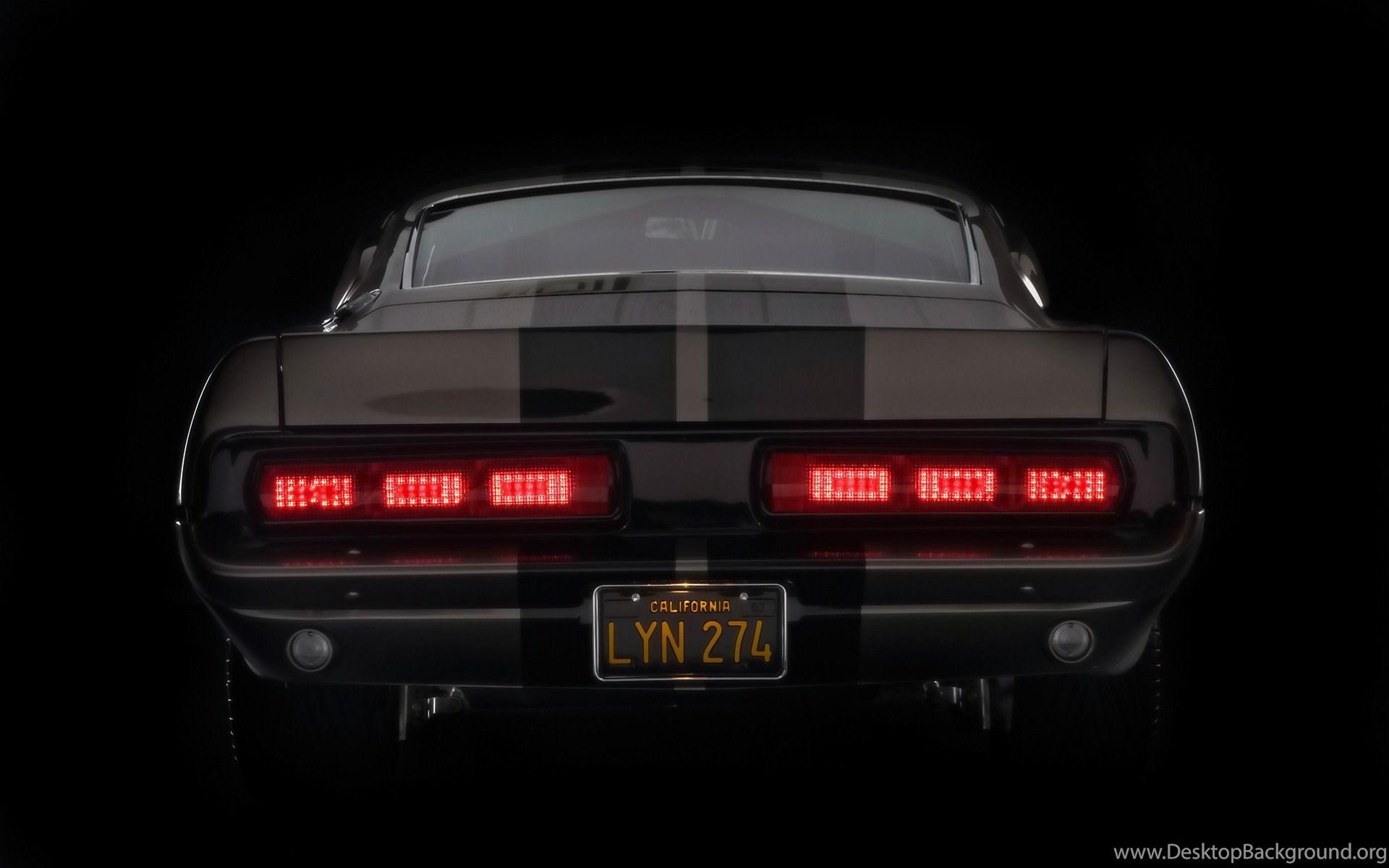 1967 Mustang Fastback Gone In 60 Seconds Eleanor Rear Lights