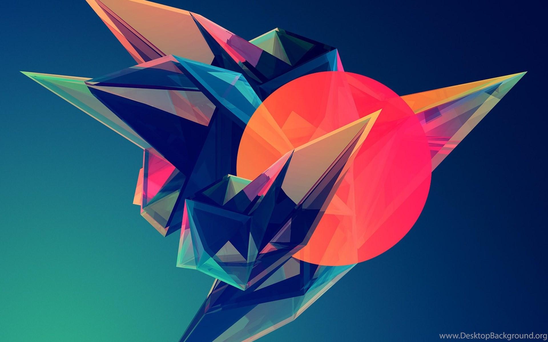 Pic New Posts Ipad 2 Wallpaper Resolution: Hipster Triangle Post Modern Abstract Minimalist Art IPad