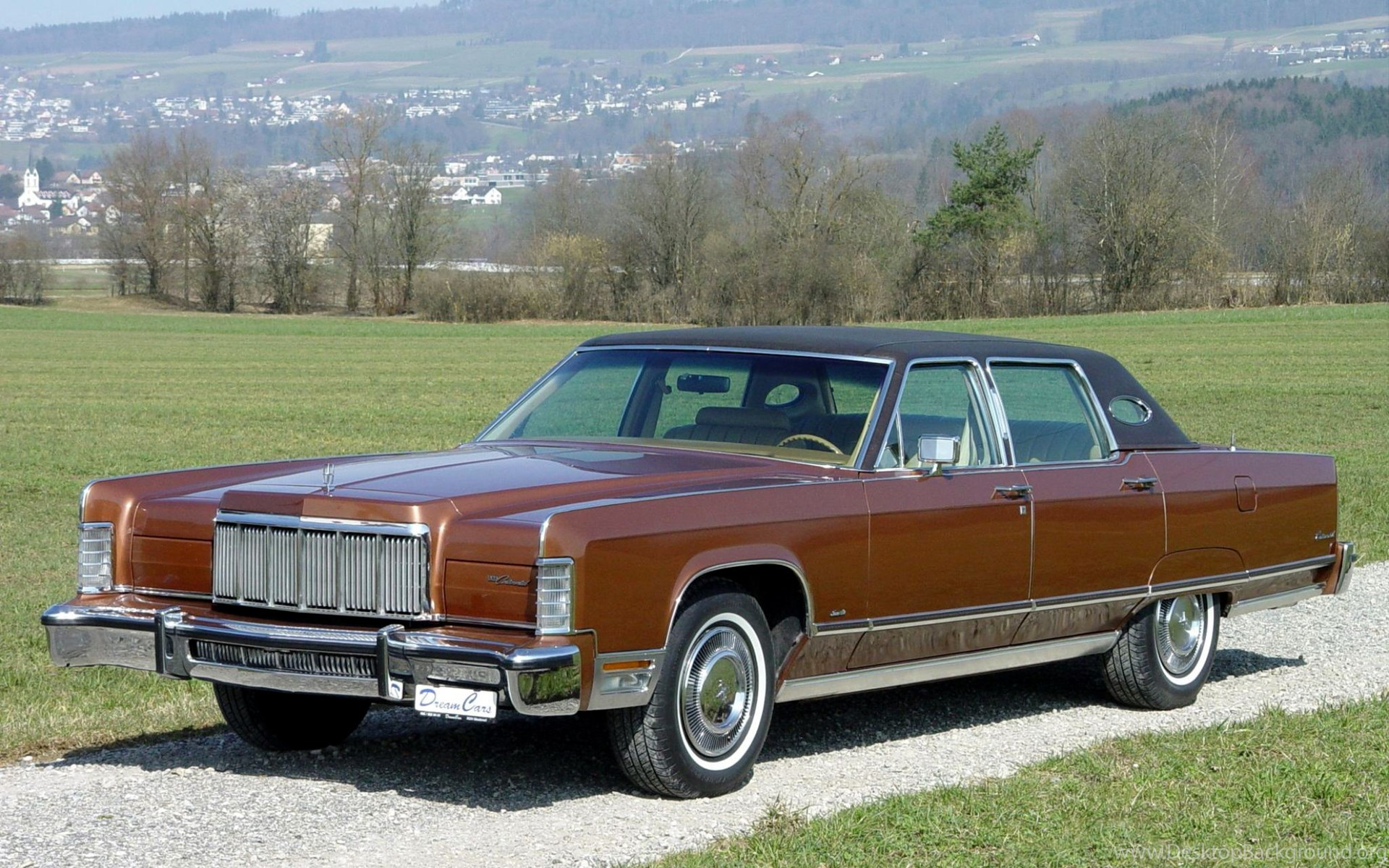 1976 lincoln continental town car luxury h wallpapers desktop background. Black Bedroom Furniture Sets. Home Design Ideas