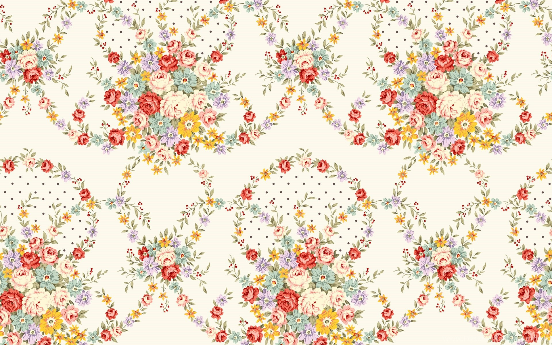 Computer Floral Pattern Wallpapers Desktop Backgrounds 1600x1200