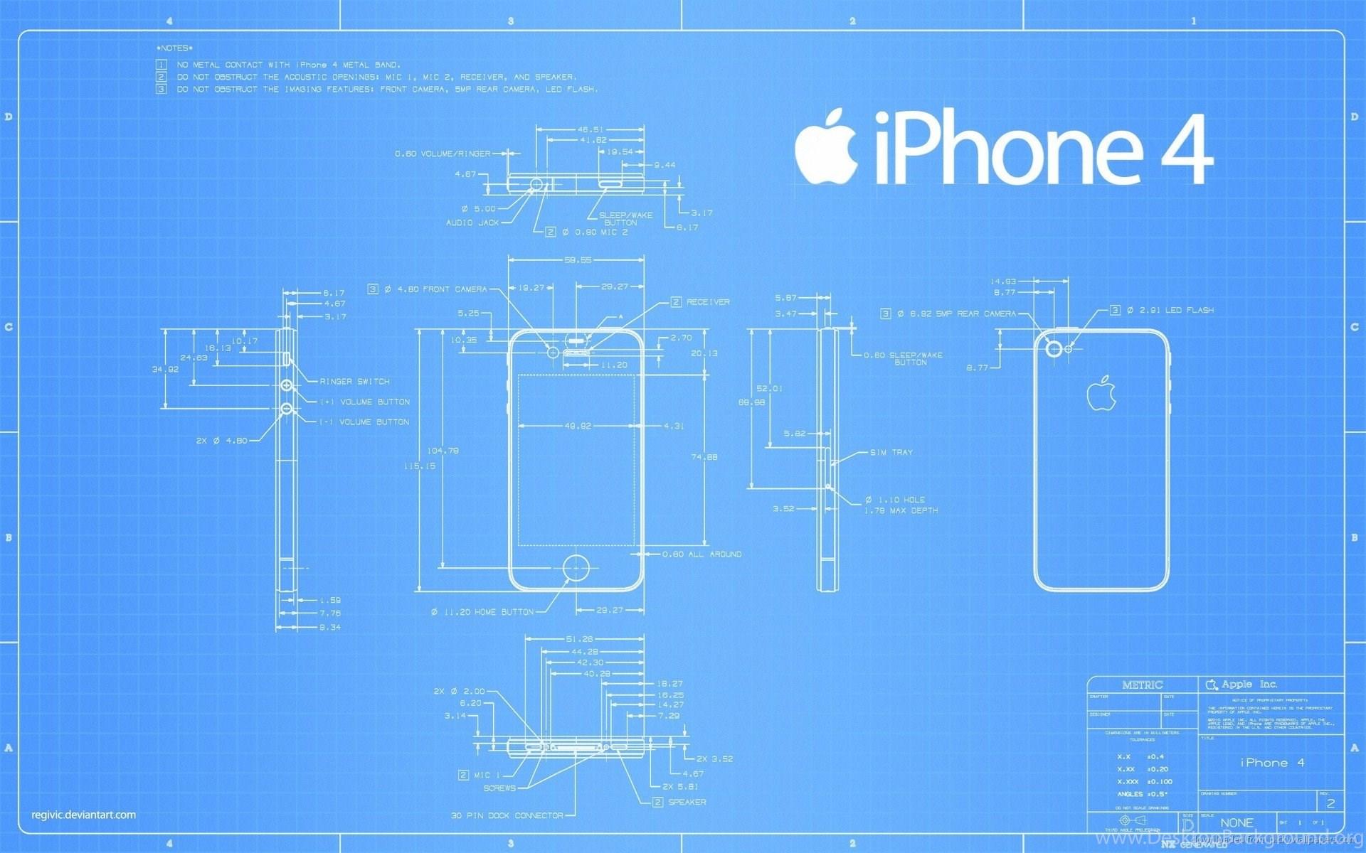Download 1920x1200 apple iphone 4 blueprint wallpapers desktop widescreen malvernweather Gallery