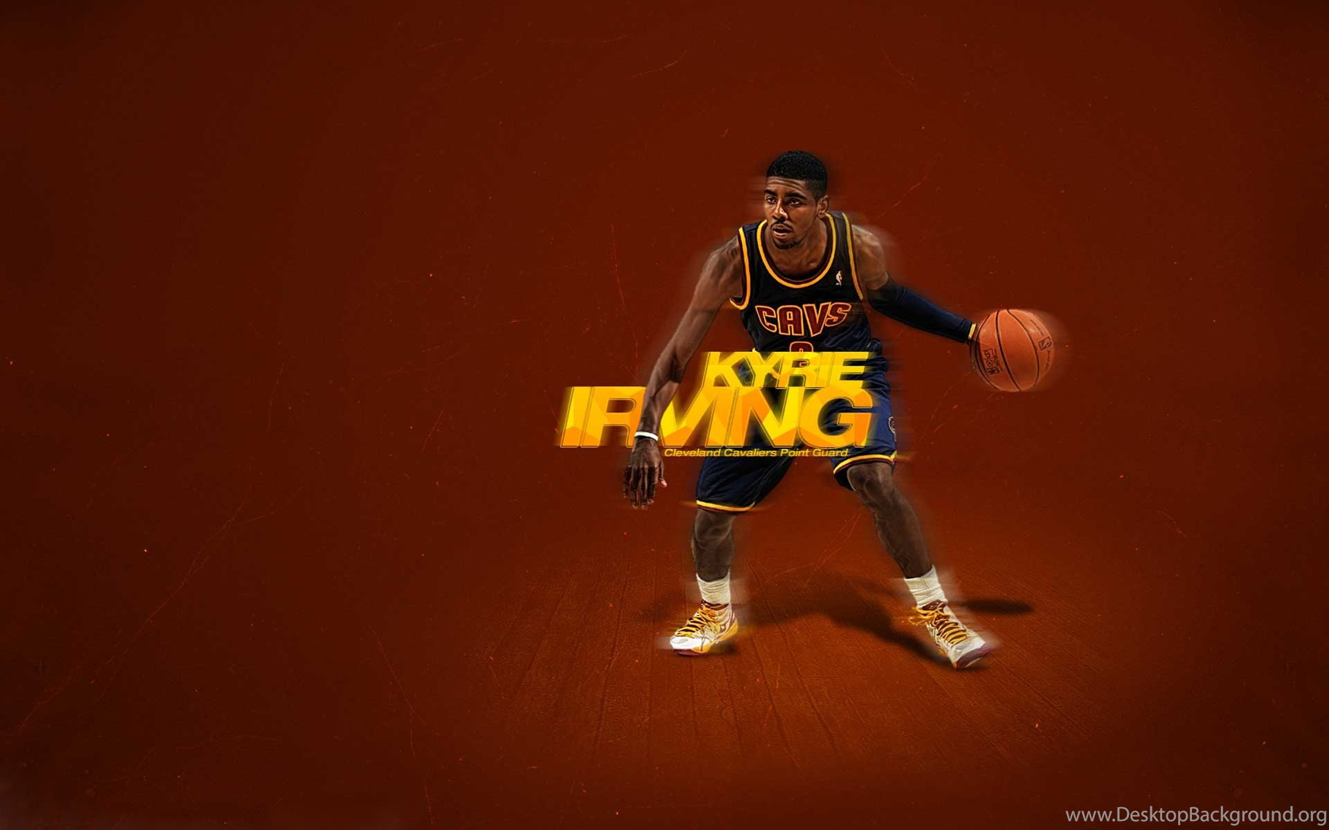 sports shoes b5e32 7f866 Download Cleveland Cavaliers Kyrie Irving Wallpapers IR12 Desktop ...