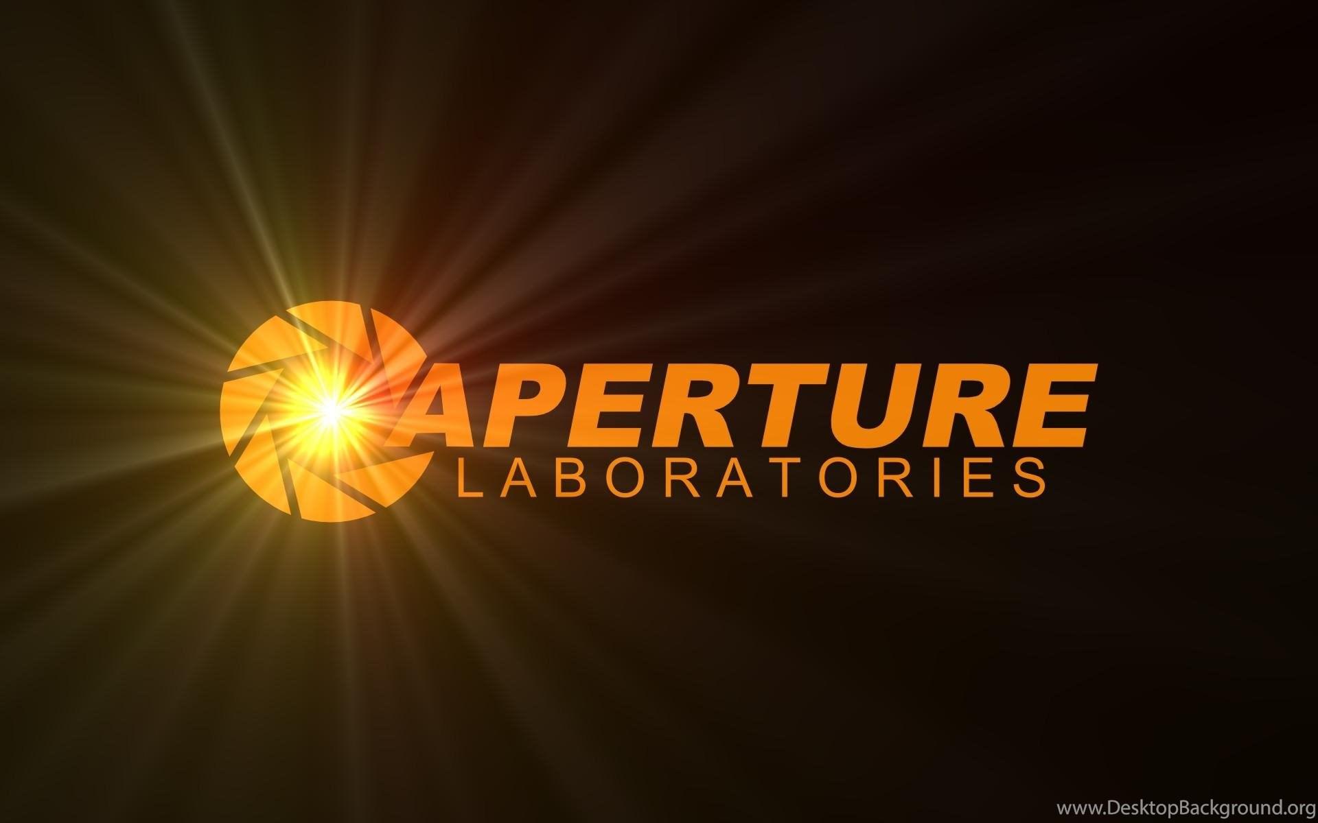 aperture science logo hd wallpapers fullhdwpp full hd desktop background
