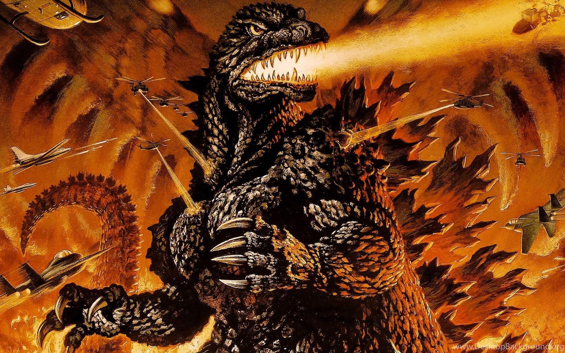 The Gallery For Godzilla Vs King Ghidorah Wallpapers Desktop