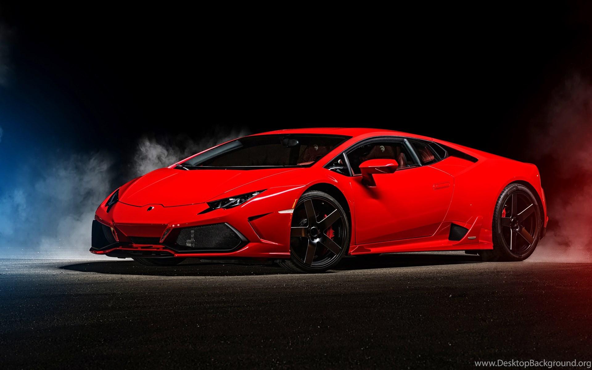 Lamborghini Red Hd Wallpapers Desktop Background