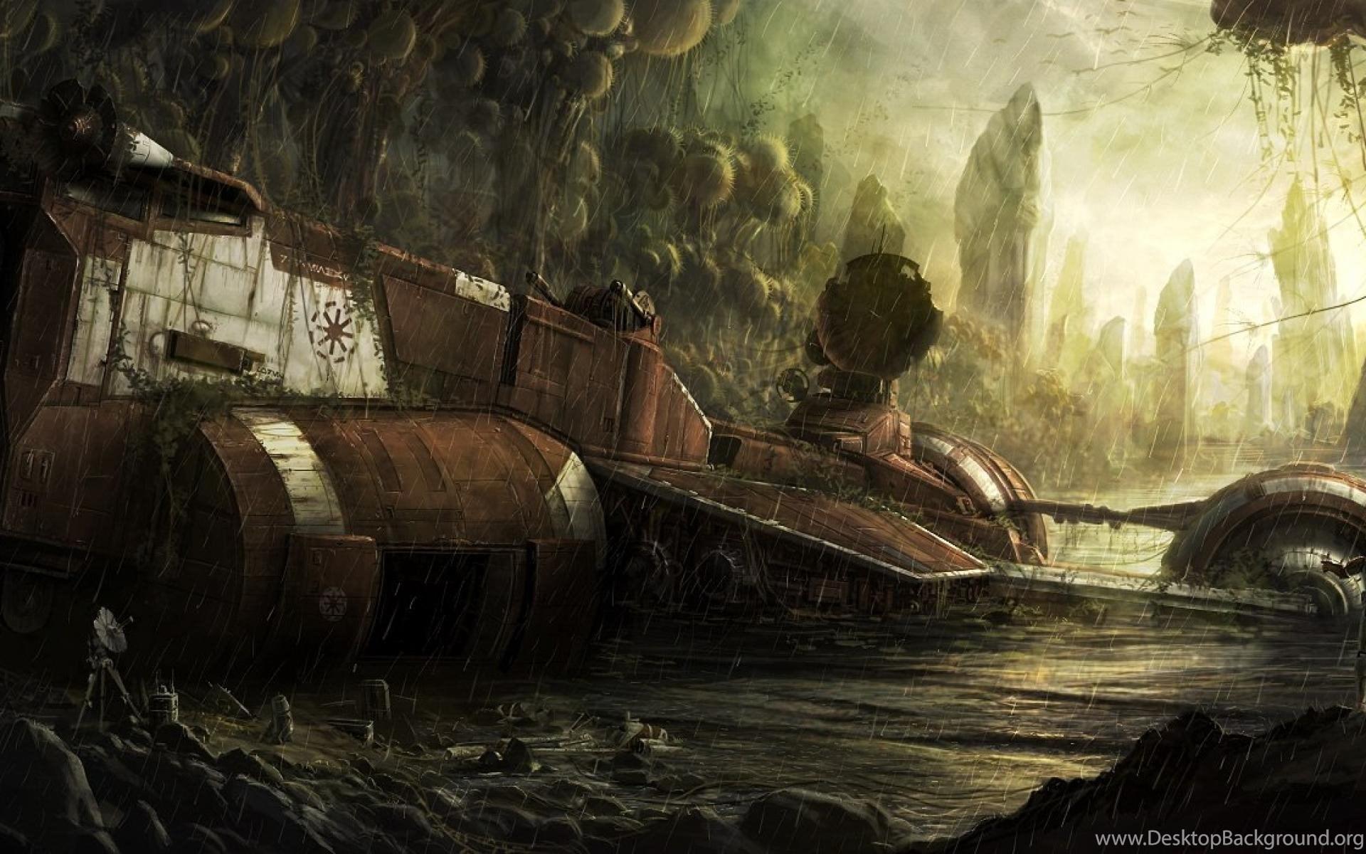 Star Wars Crash Clone Trooper Digital Art HD Wallpapers