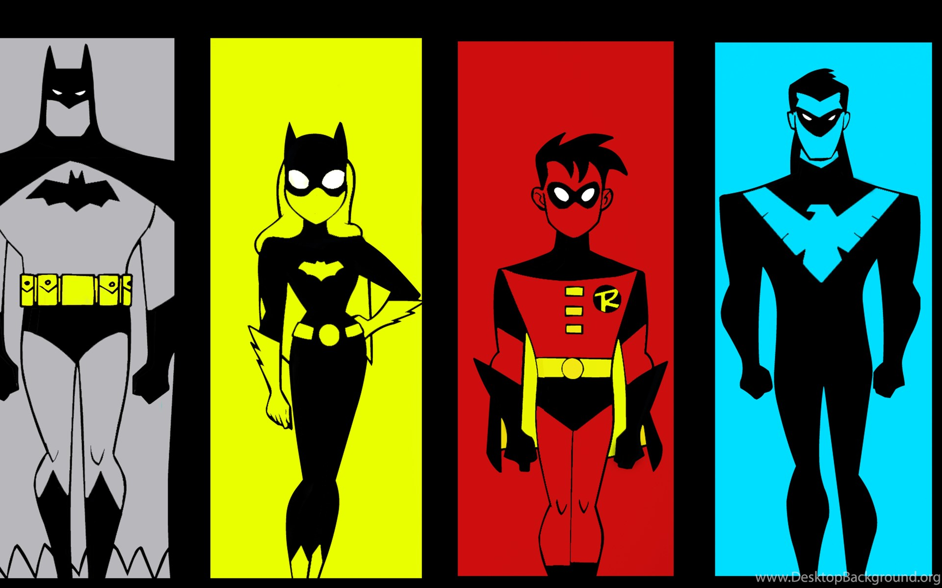dc ambatman the animated series wallpapers by