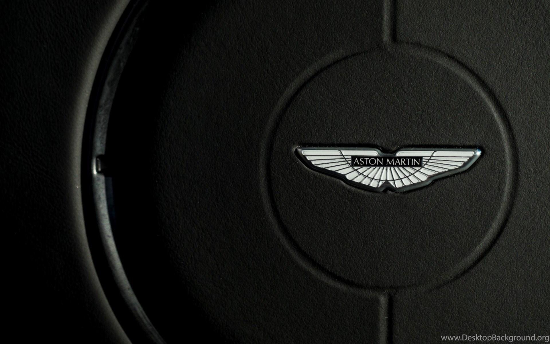 Download Grand 2015 Aston Martin Vanquish Onyx Black Logo In The