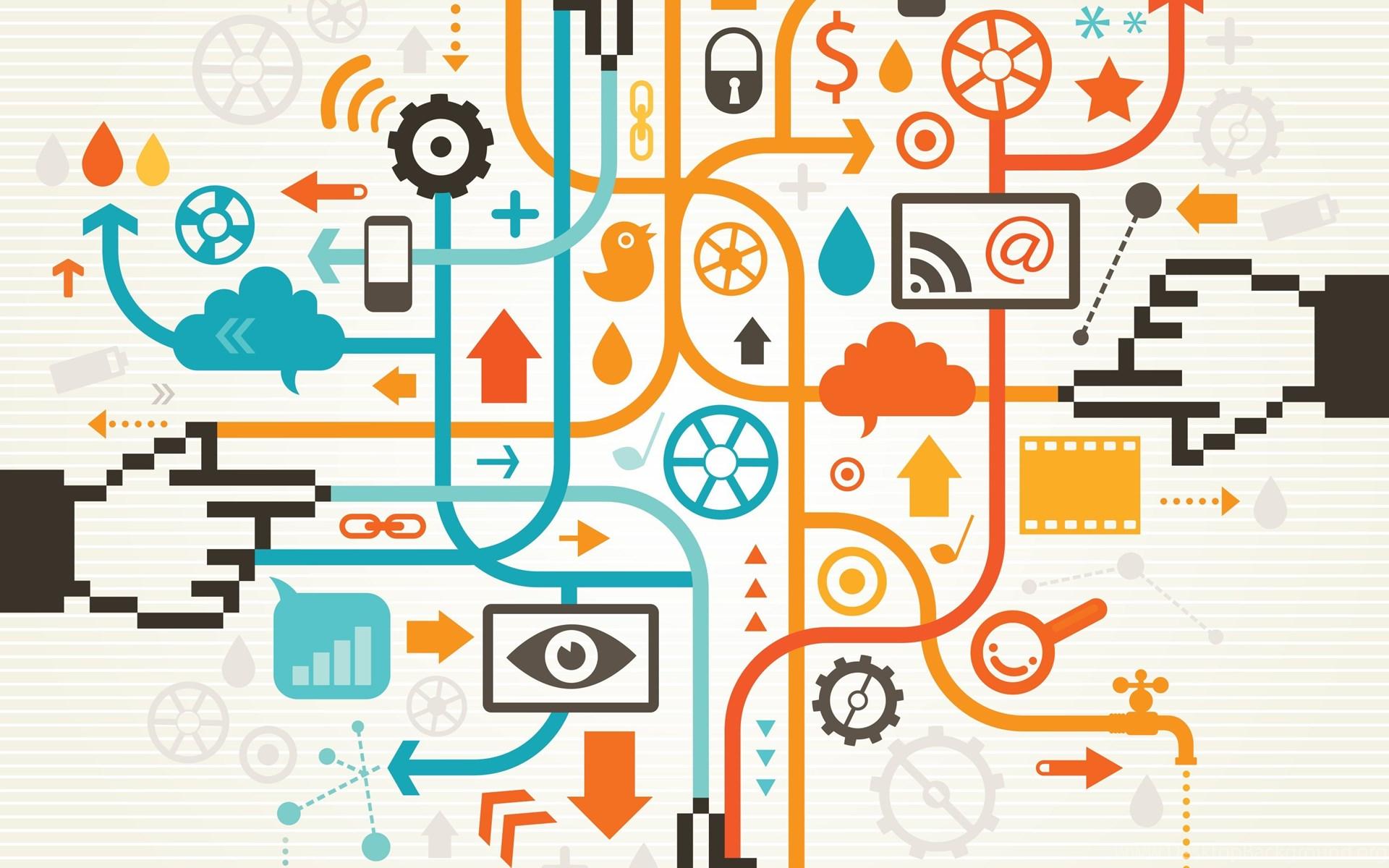 Social Media Wallpapers Desktop Background