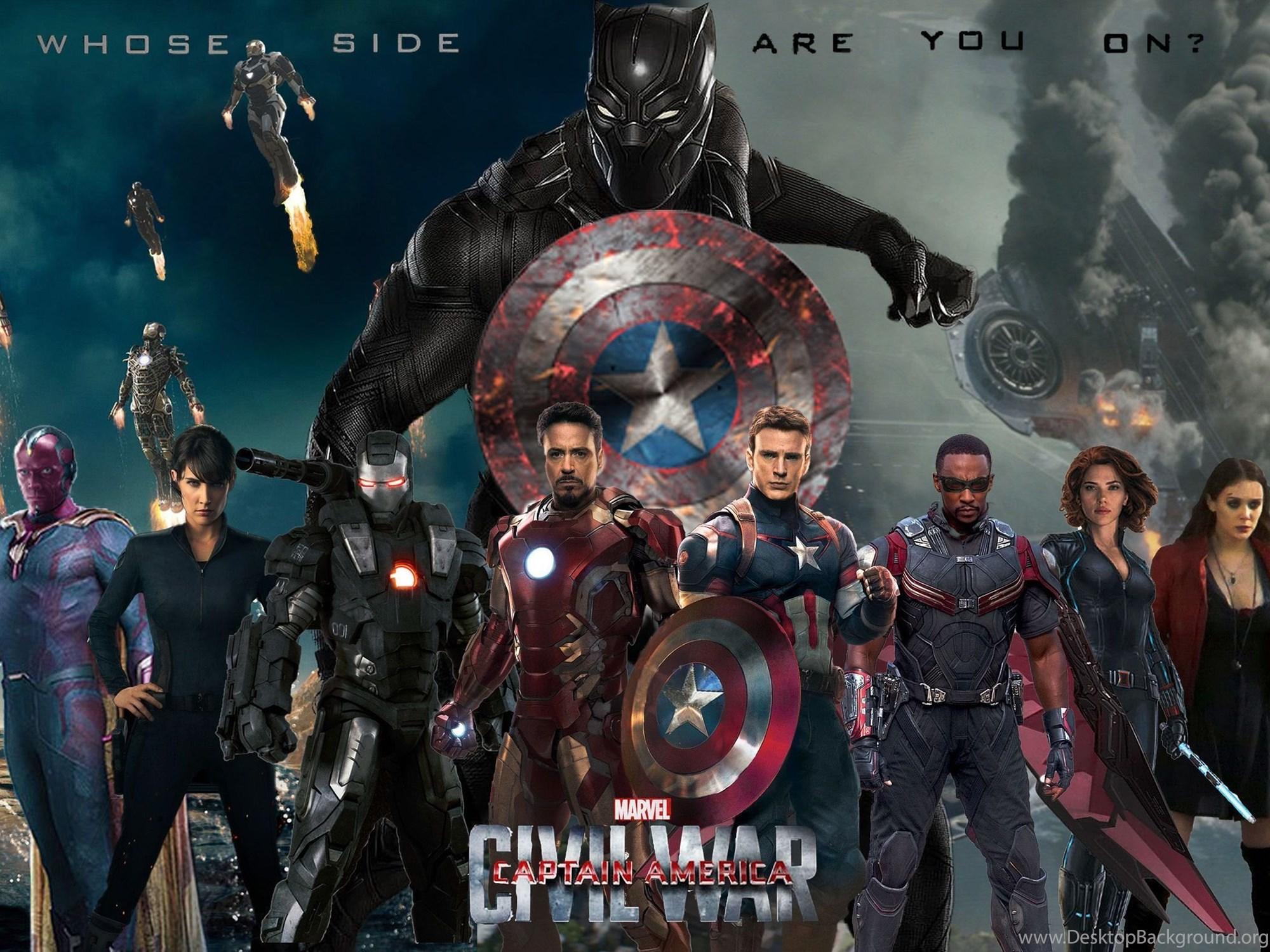 Captain America Civil War 2016 High Resolution Image Desktop Background