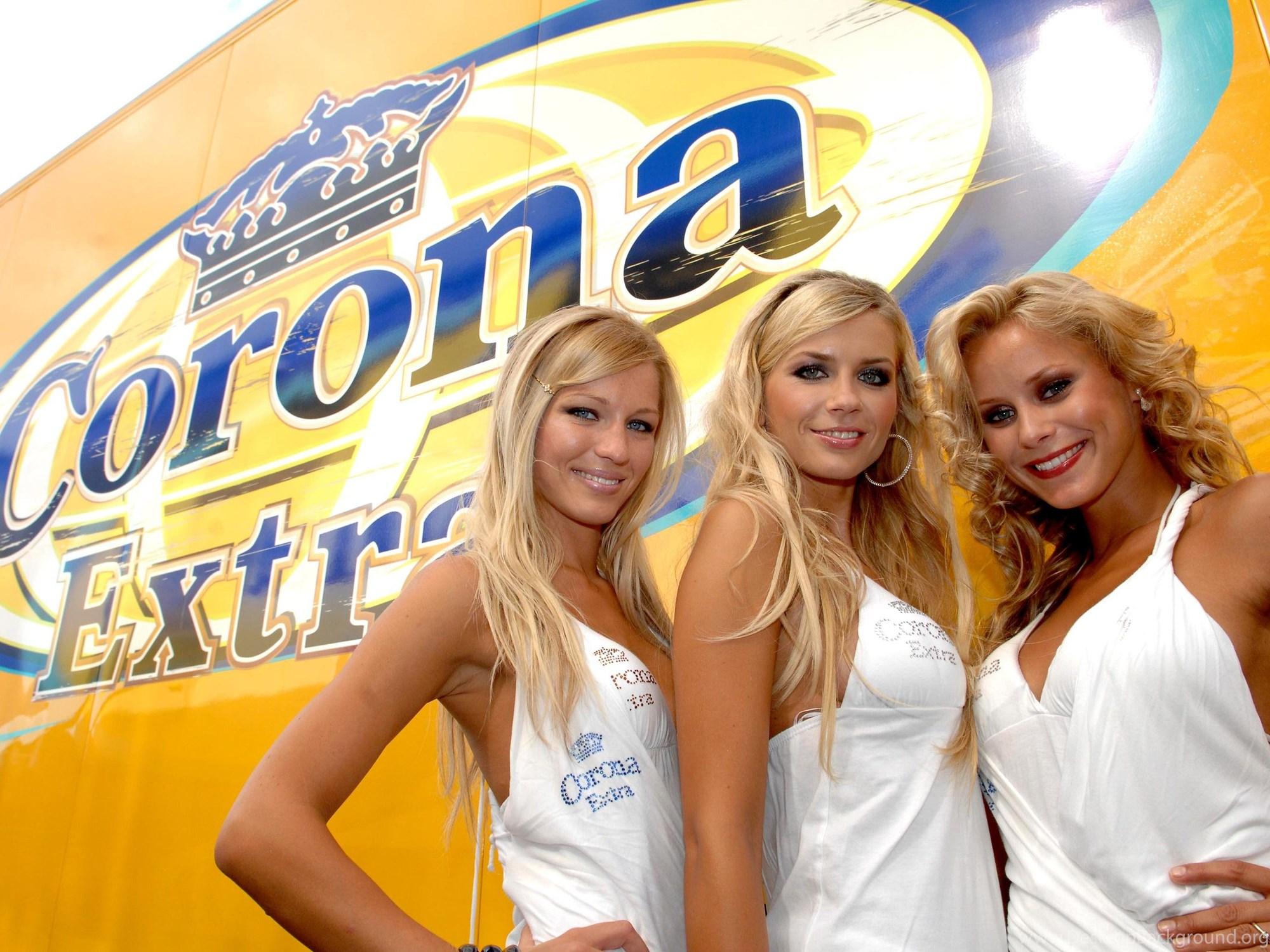 Corona Rare Sexy Latina Bikini Girl Beer Poster