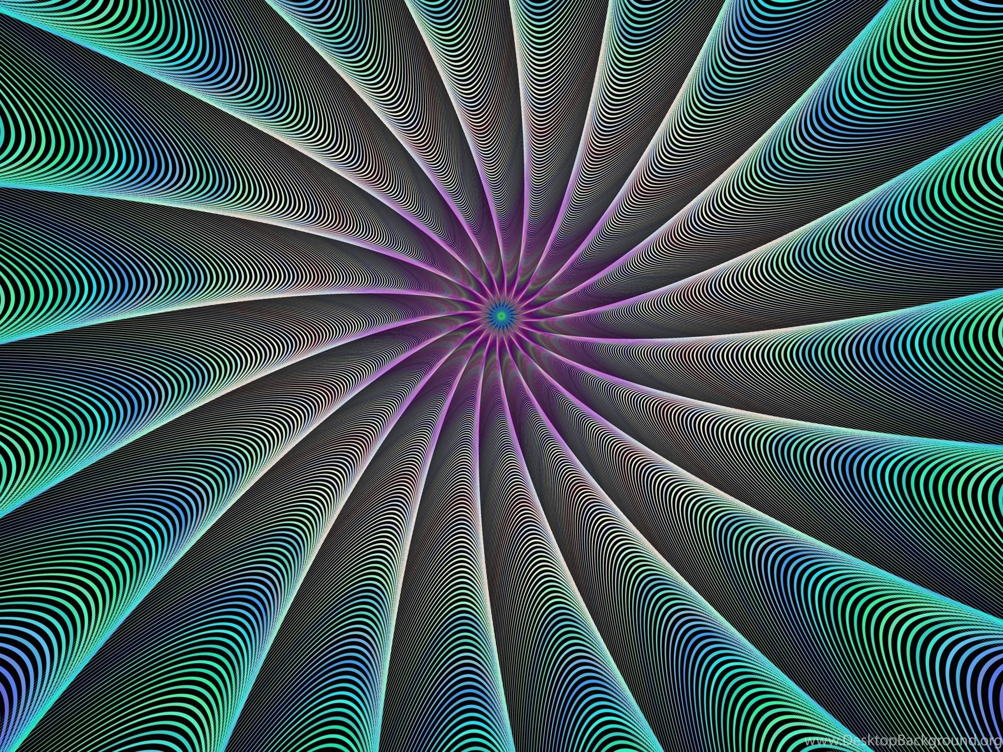 4k Trippy Fractal Wallpapers Desktop Background