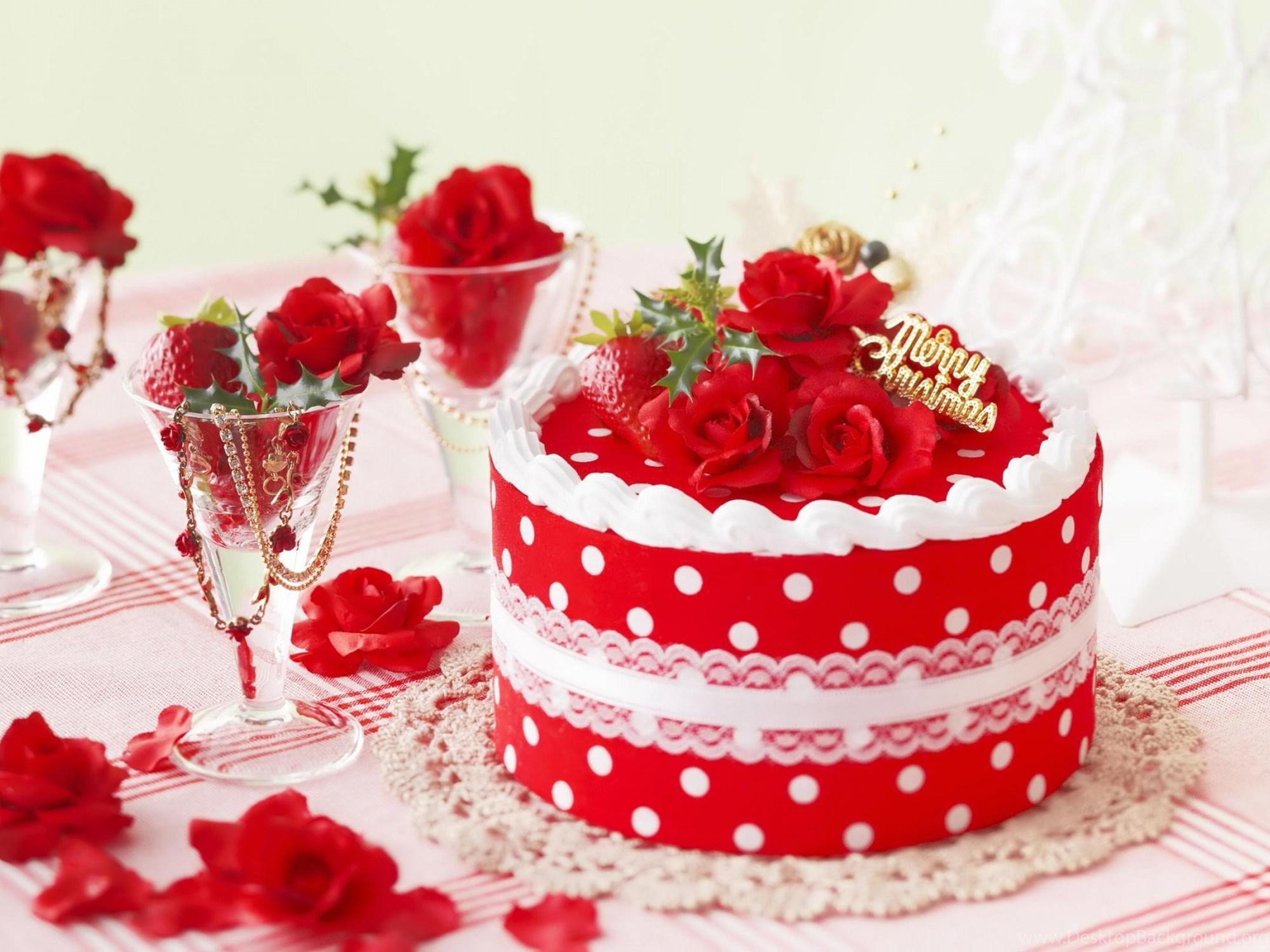 Торт с поздравлениями на день рождения