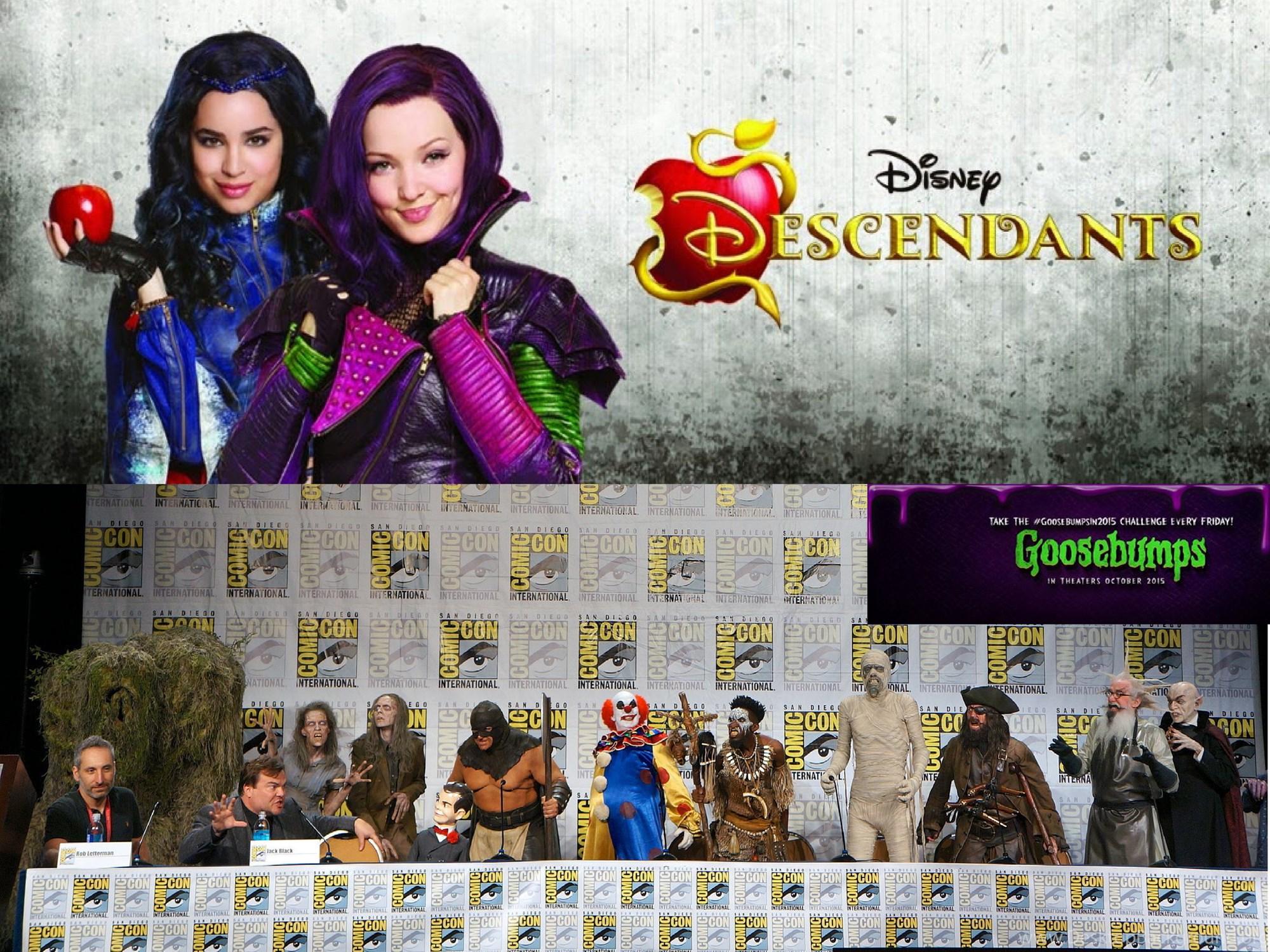 Disney Descendants And Goosebumps Movie By Ichaelbarnes On