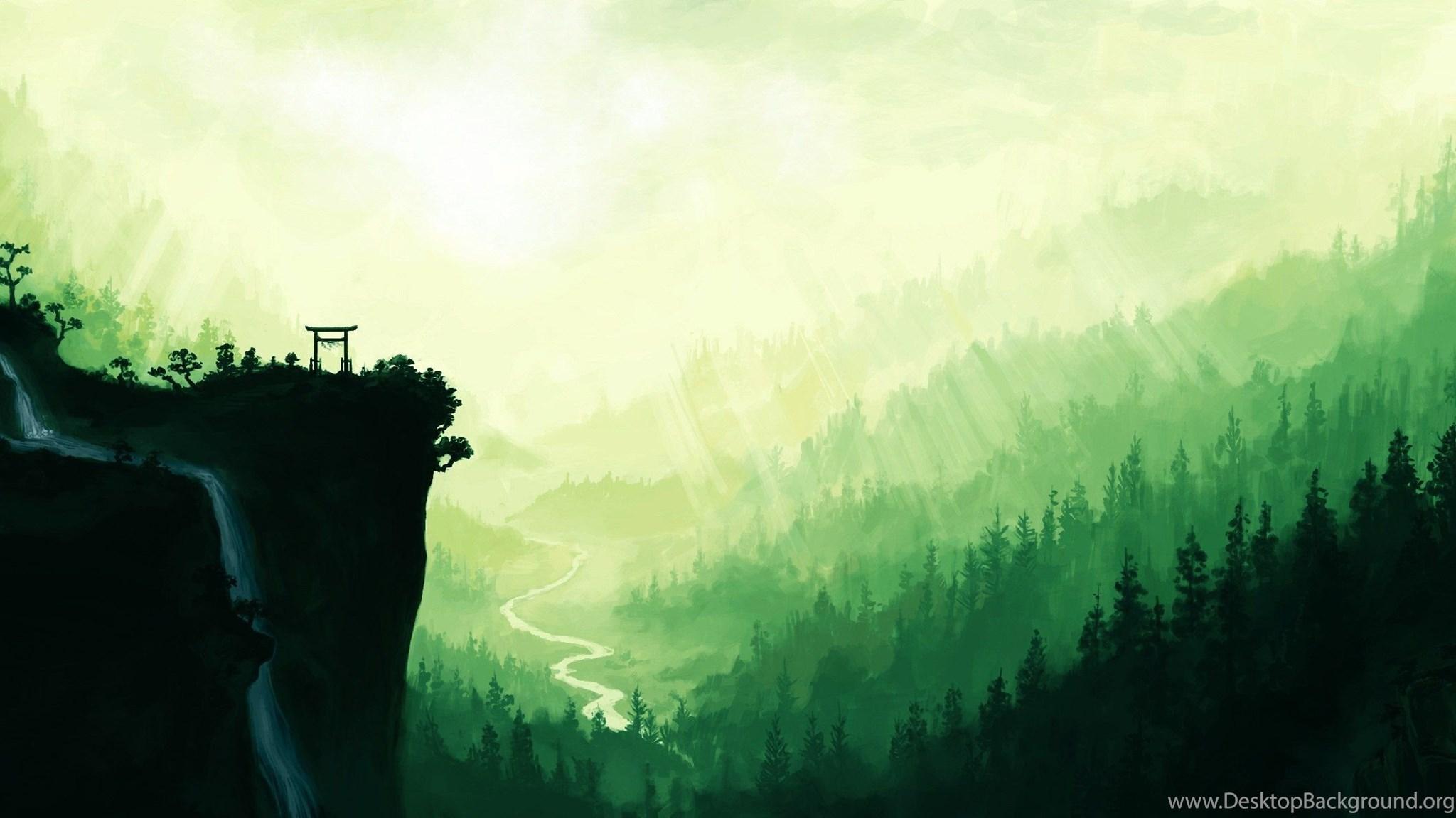 Prostranstva Gengo Mango 79421_anime-scenery-wallpapers-2400x1199_2400x1199_h