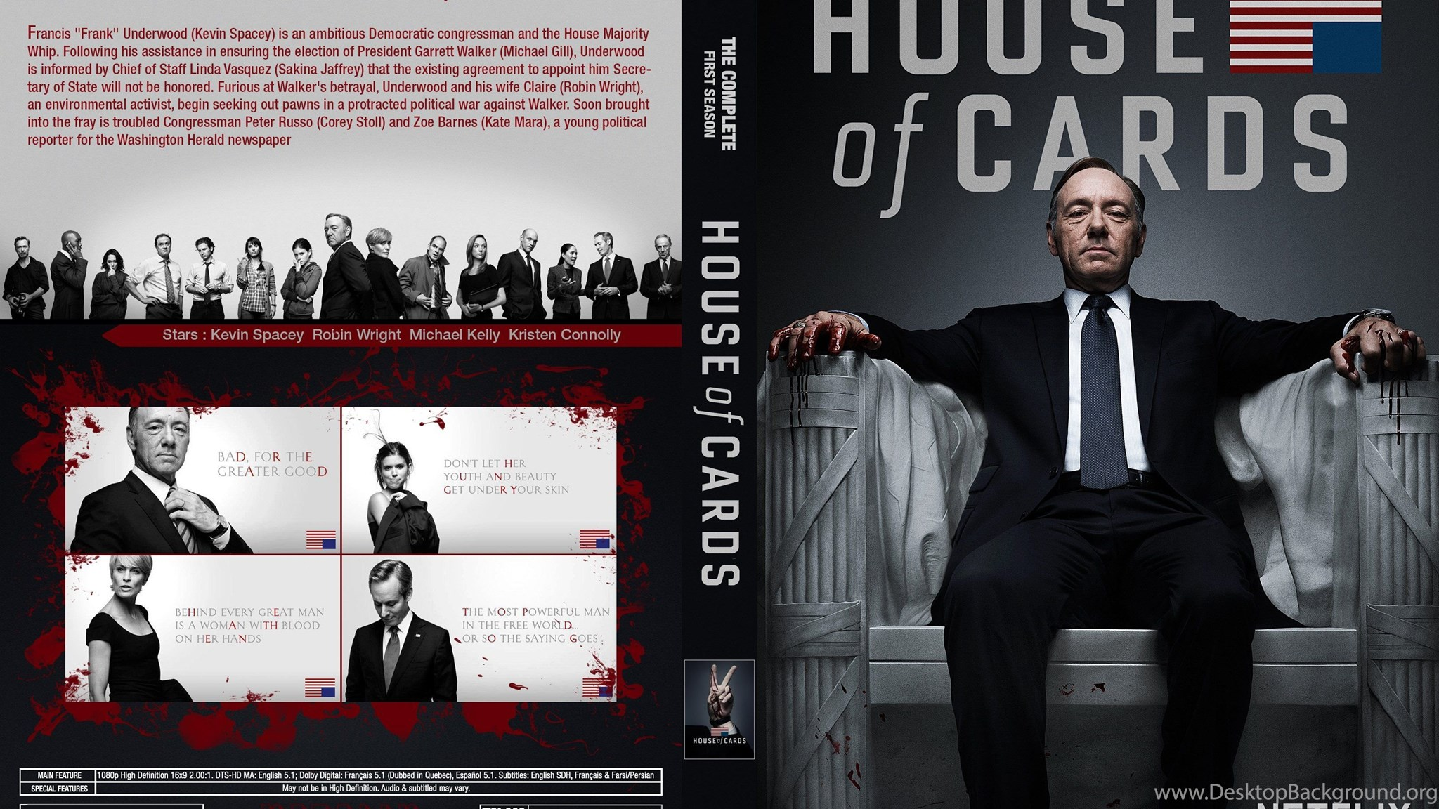 House Of Cards Political Drama Series 30 Wallpapers Desktop Background