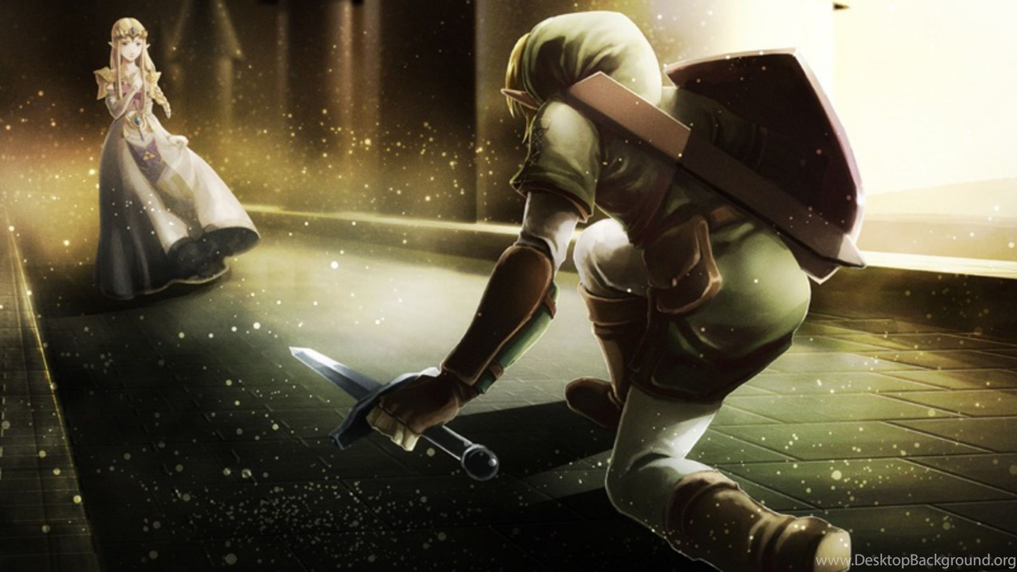 Download Wallpapers 2560x1440 The Legend Of Zelda Character Elf