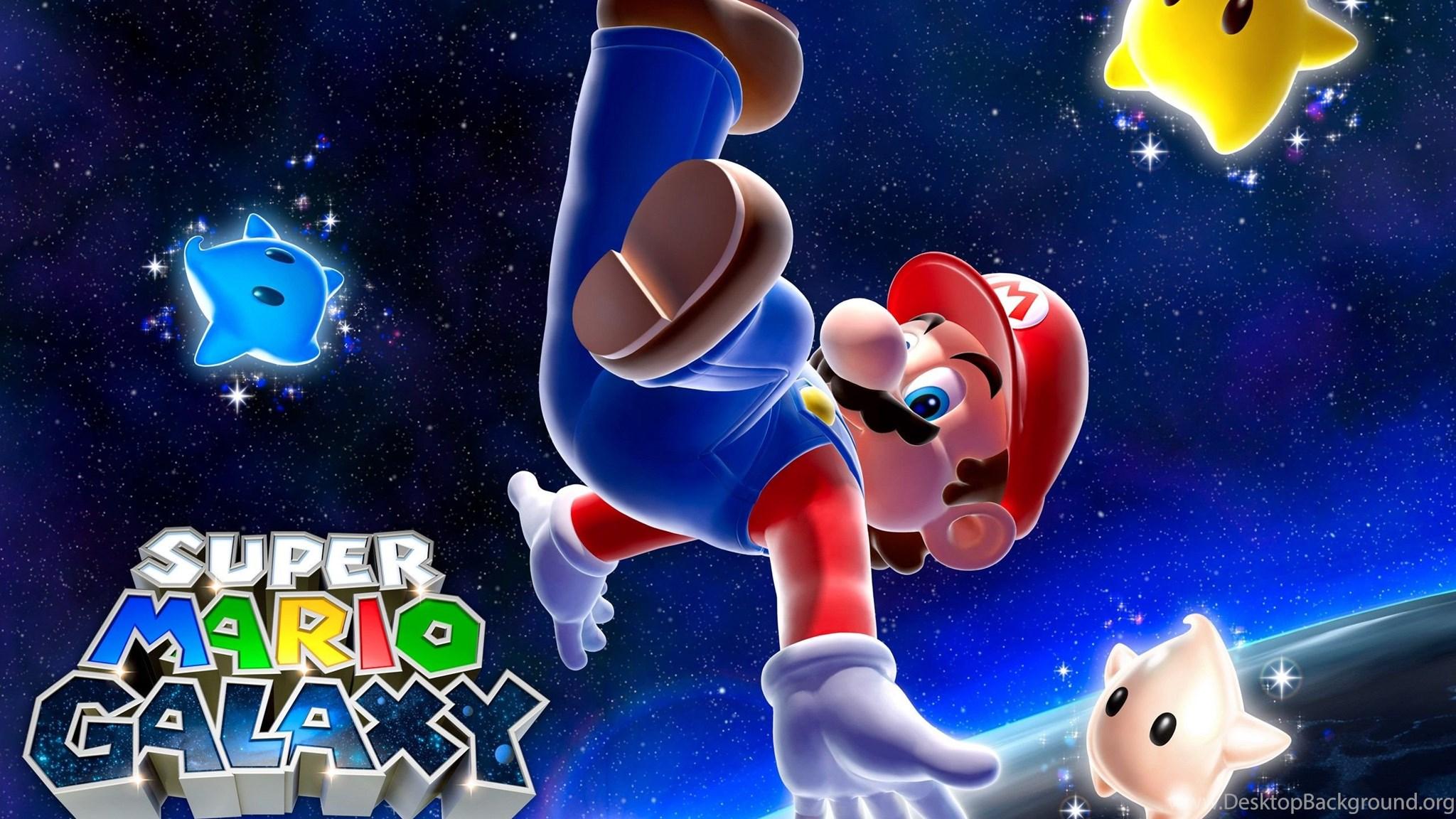 Super Mario Galaxy Computer Wallpapers Desktop Backgrounds