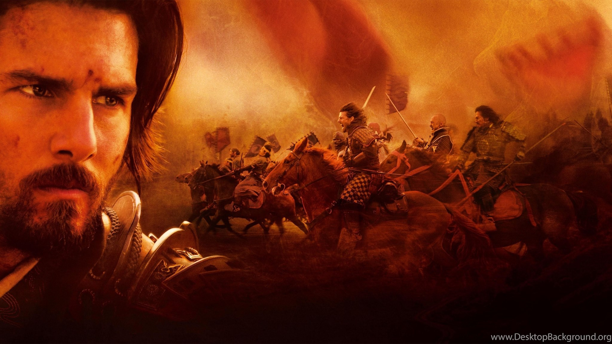 the last samurai and flames and From the opening voiceover and title to the final scene, the last samurai is an historical disaster.