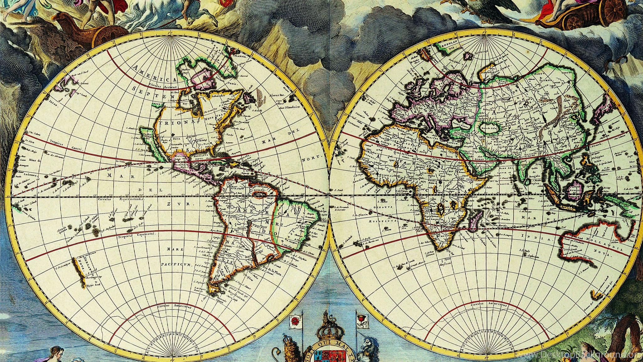 Old world map cartography geography d 3500x2600 21 wallpapers widescreen gumiabroncs Gallery