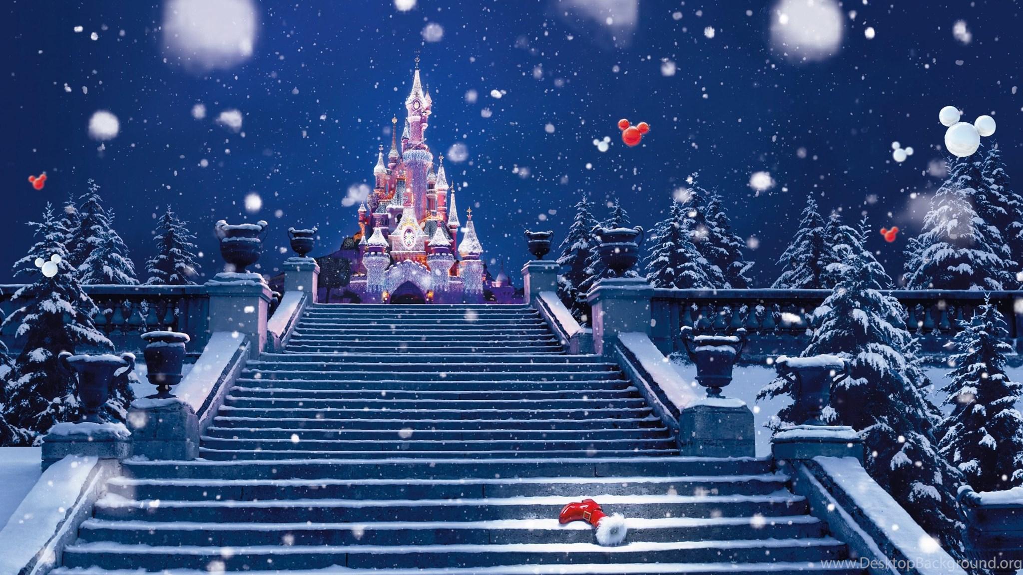 Christmas At Disney World Wallpapers 28359 Desktop Background