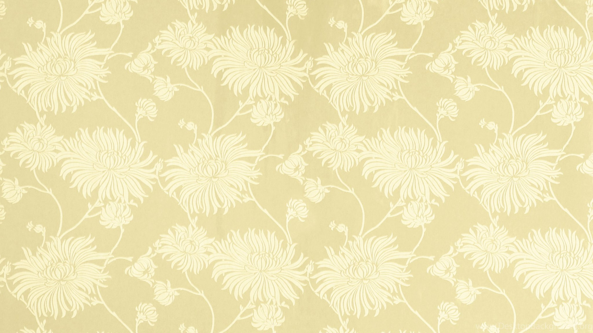 Kimono Gold Floral Wallpapers At Laura Ashley Desktop Background